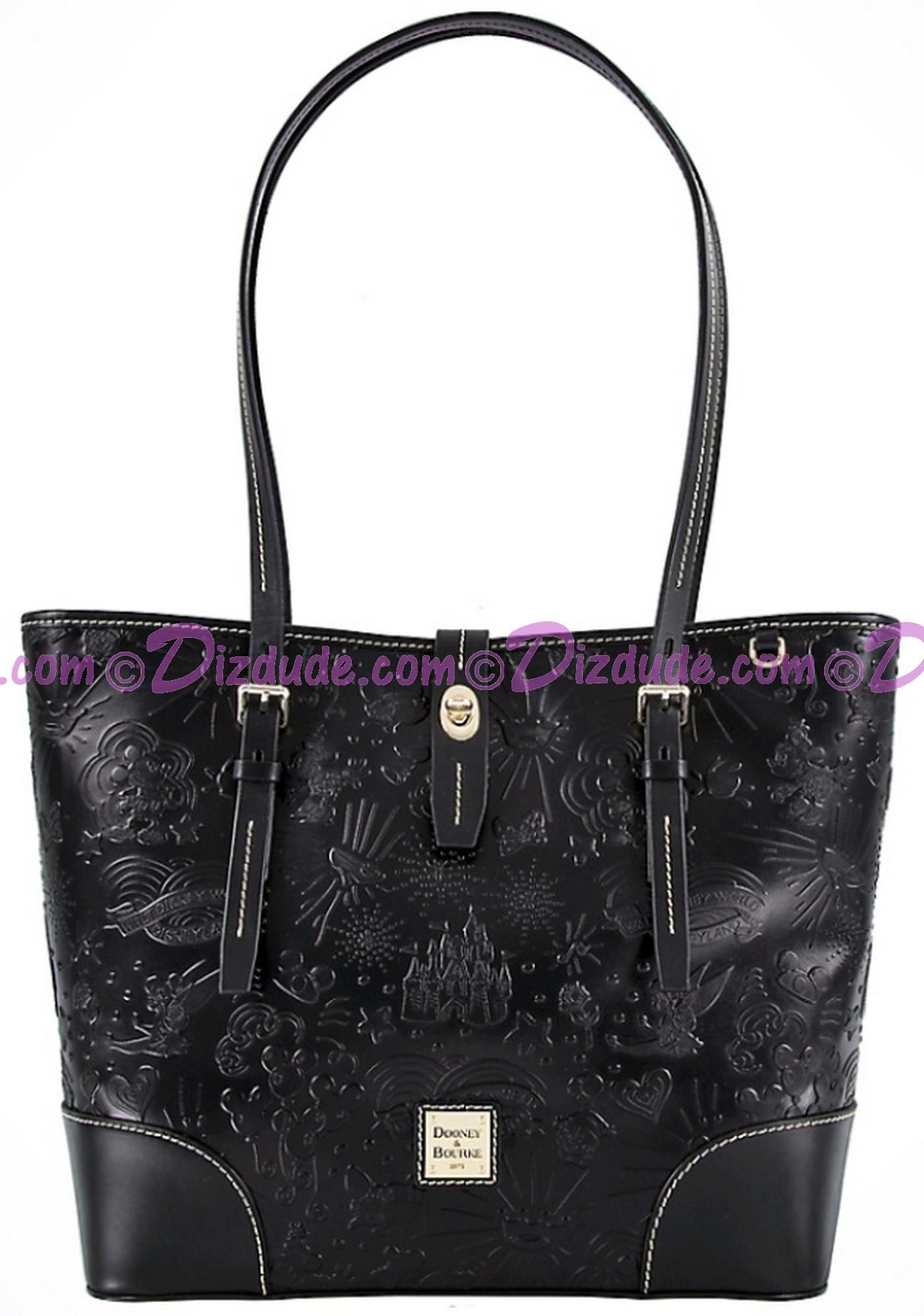 Dooney & Bourke Black Leather Sketch Tote handbag - Disney World Exclusive  © Dizdude.com