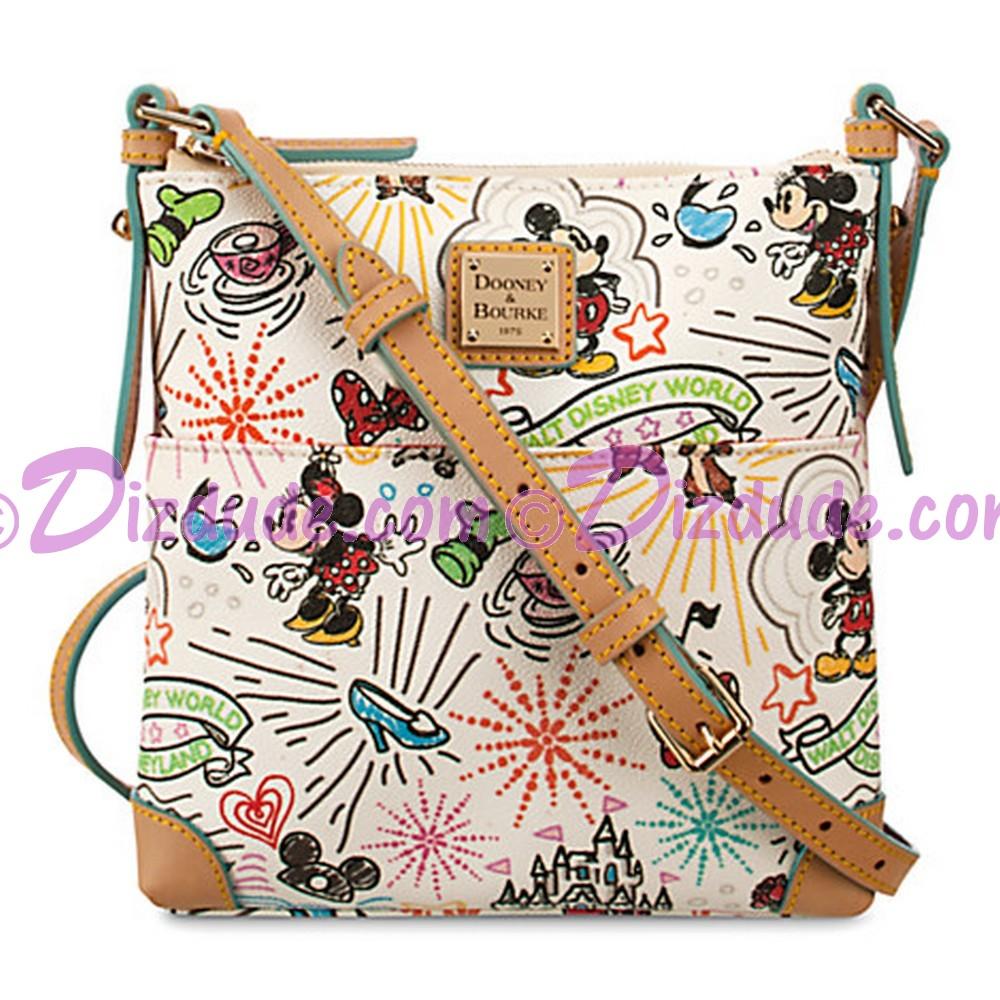 Dooney & Bourke Sketch Crossbody Handbag - Disney World Exclusive © Dizdude.com