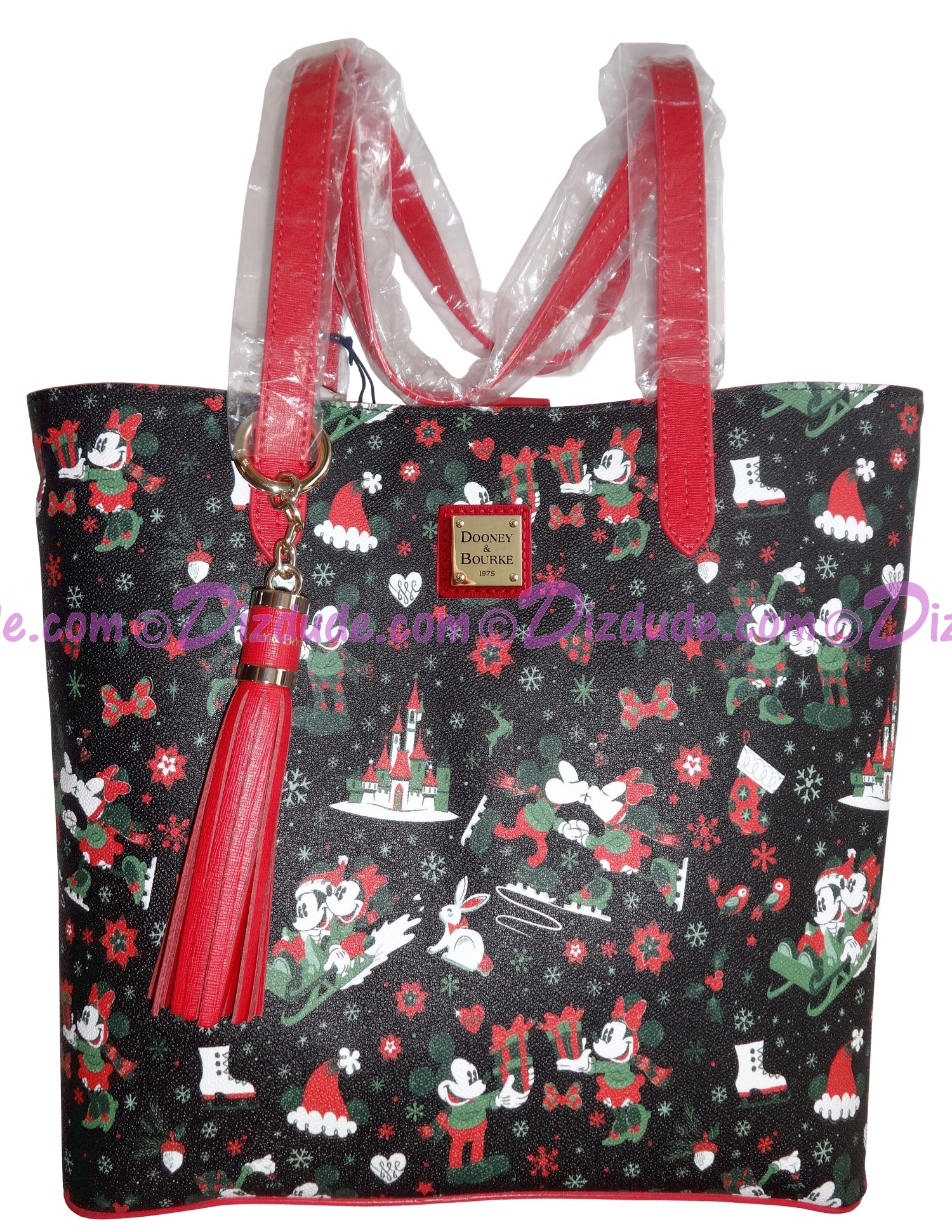 Dooney & Bourke Christmas Holiday Woodland Winter Tote - Walt Disney World Exclusive © Dizdude.com