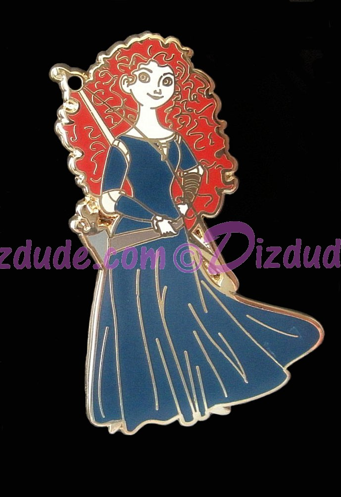 Brave Princess Merida collector Pin © Dizdude.com