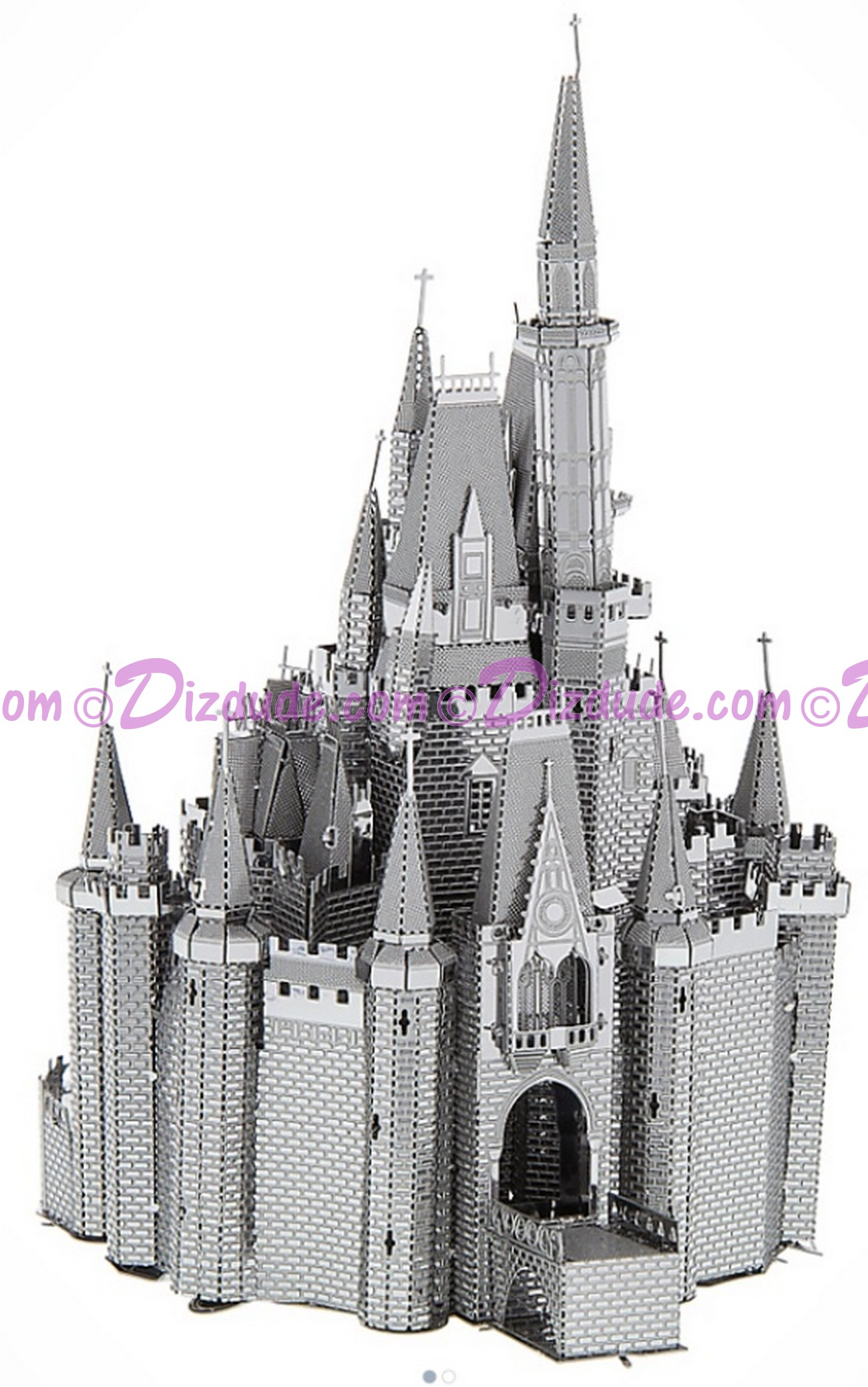 Walt Disney World Cinderella's Castle 3D Metal Model Kit - Disney Exclusive © Dizdude.com