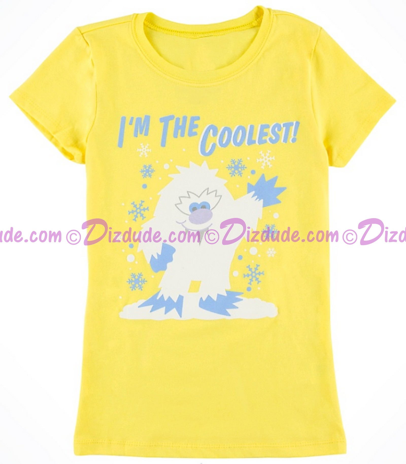 (SOLD OUT) I'm The Coolest Yeti Expedition Everest Youth T-Shirt (Tee, Tshirt or T shirt) ~ Disney Animal Kingdoms