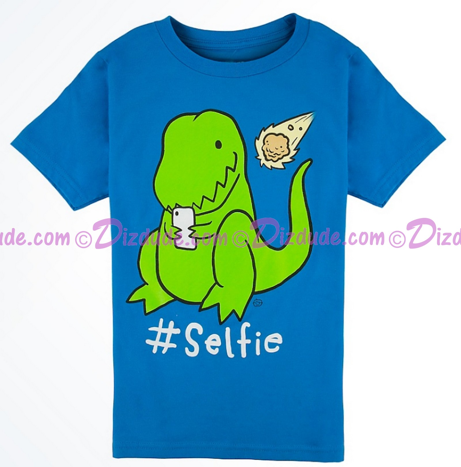 VINTAGE Dinosaur #Selfie Youth T-shirt (Tee, Tshirt or T shirt) - Animal Kingdom Dino Institute