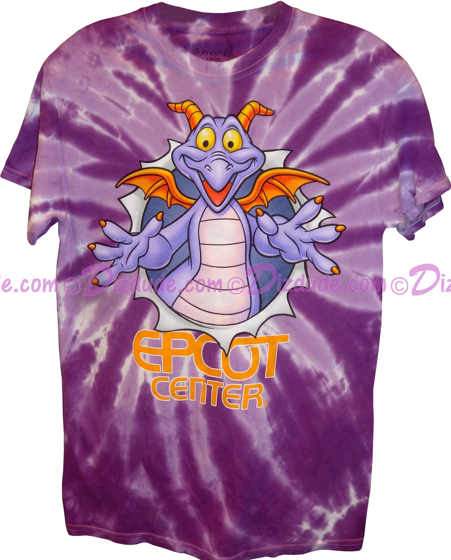 (SOLD OUT) Figment Adult T-shirt (Tee, Tshirt or T shirt) - Disney Epcot Center