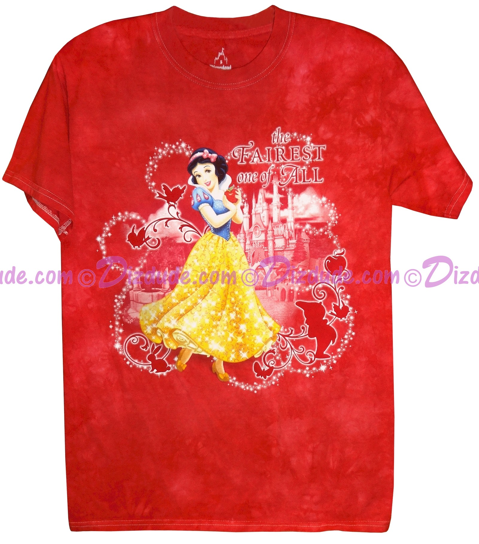 """(SOLD OUT) Disney Princess Snow White """"The FAIREST one of ALL"""" Ladies T-shirt (Tee, Tshirt or T shirt)"""