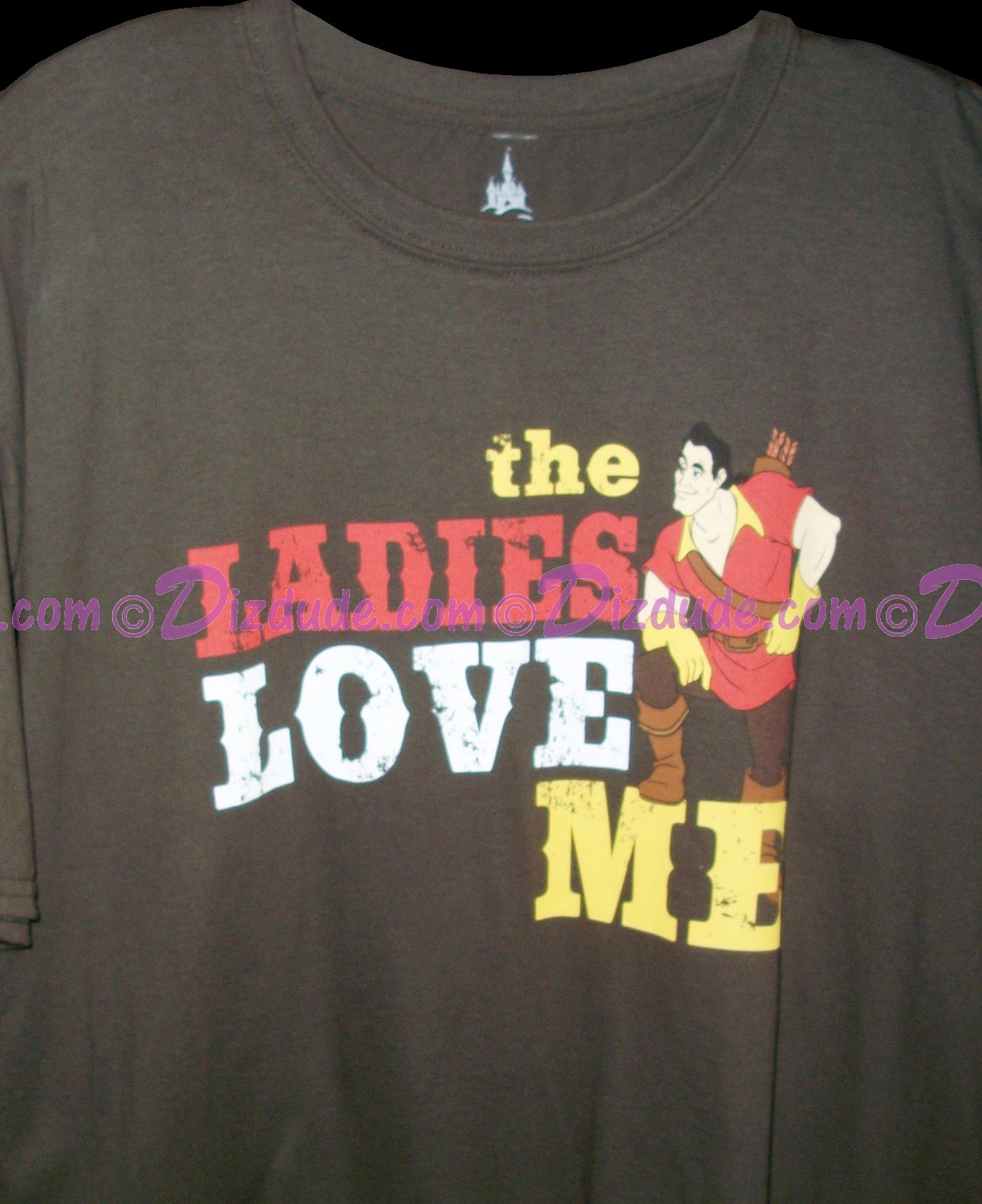 cbe82b68 ... dizdude com disney gaston the las love me t shirt tee tshirt ...