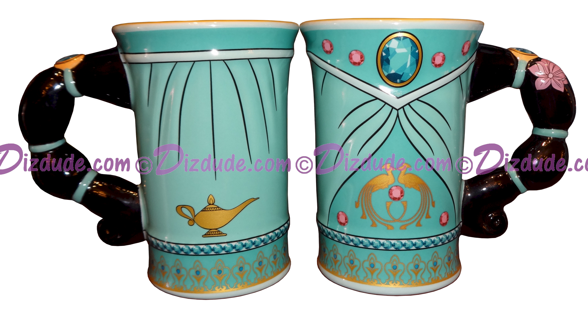 Disney Jasmine Sculptured Mug - Part of the Disney Princess Mug Collection © Dizdude.com
