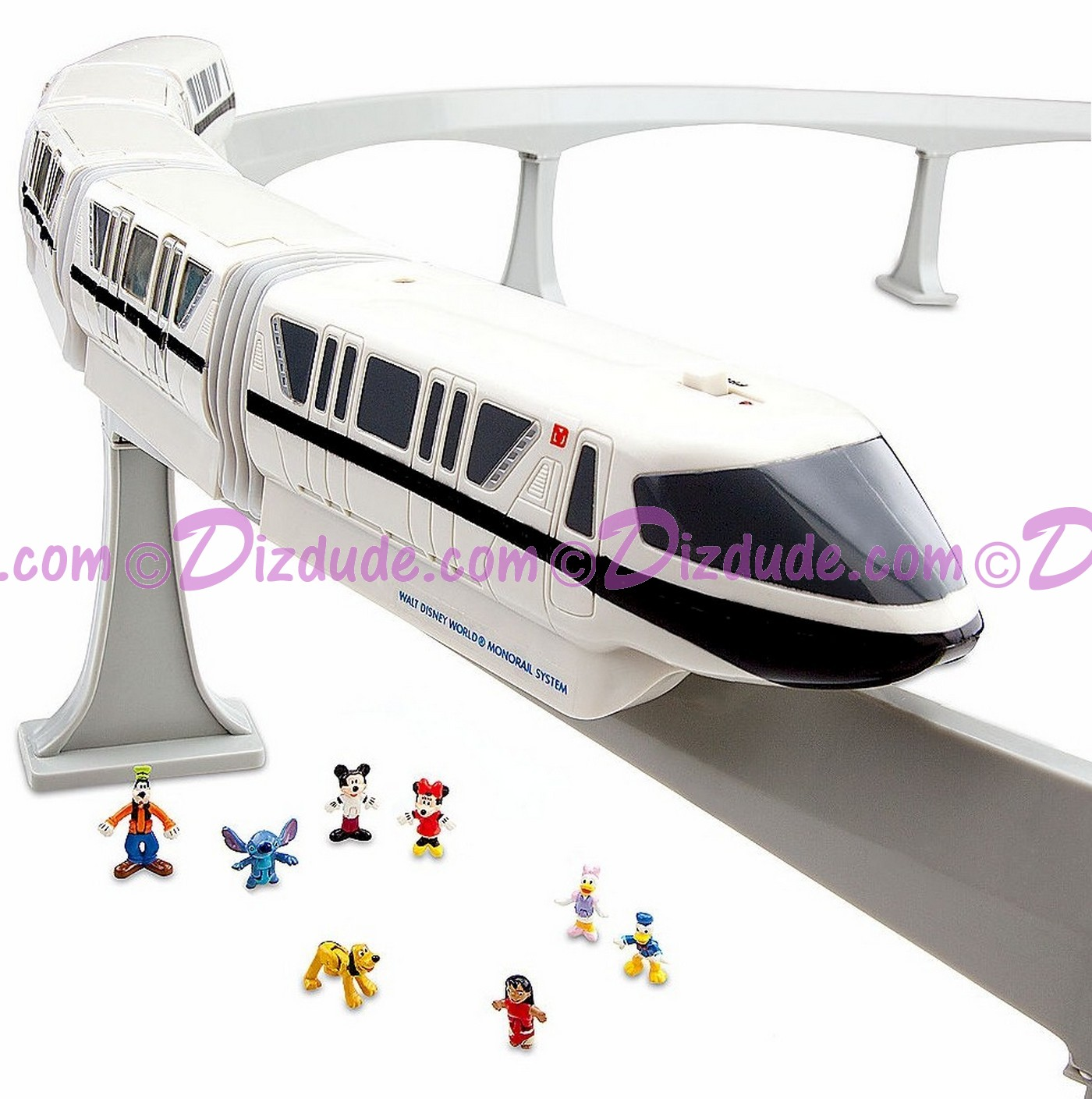 Disney World Monorail Playset © Dizdude.com
