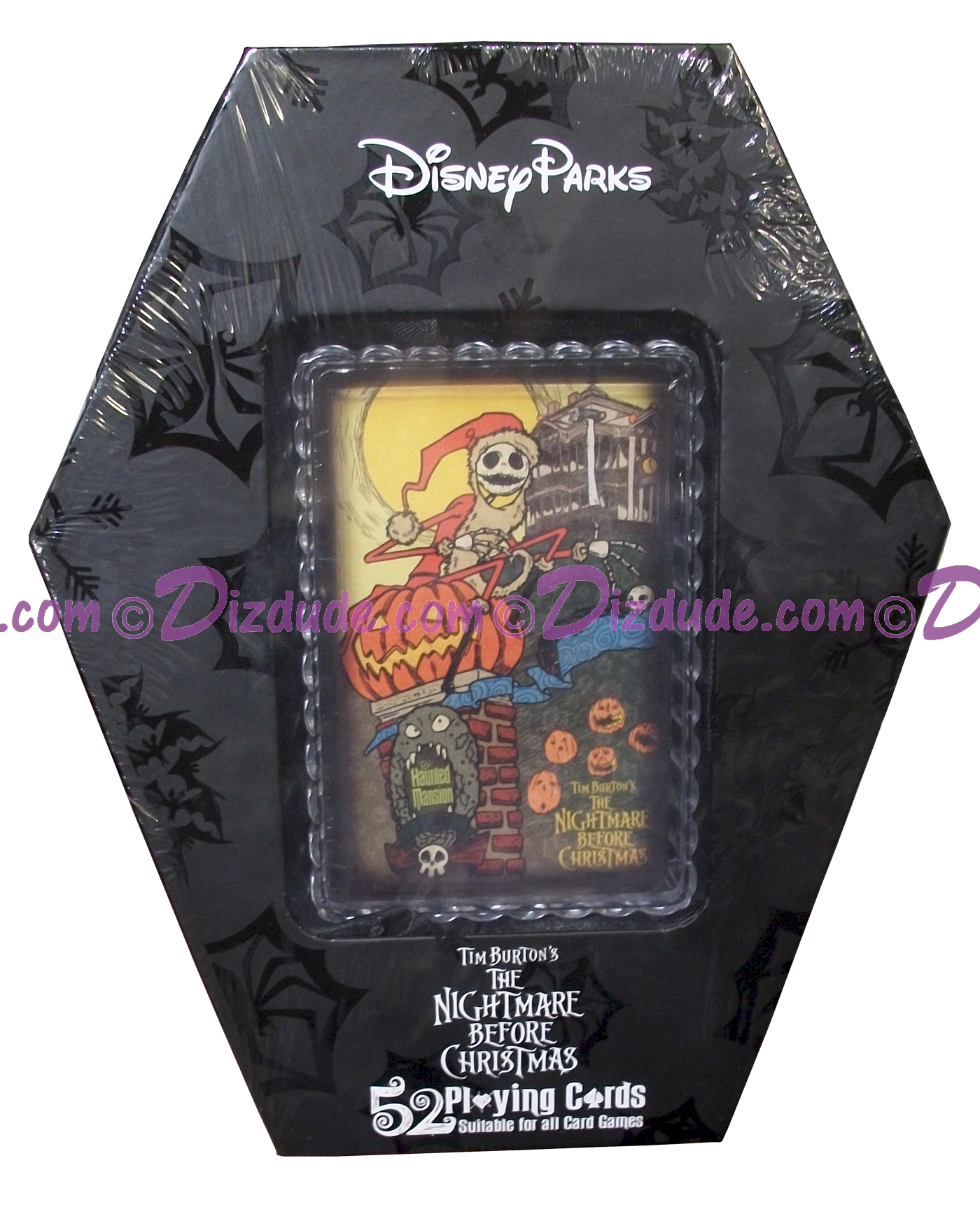 Disney World 52 Playing Cards The Nightmare Before Christmas © Dizdude.com