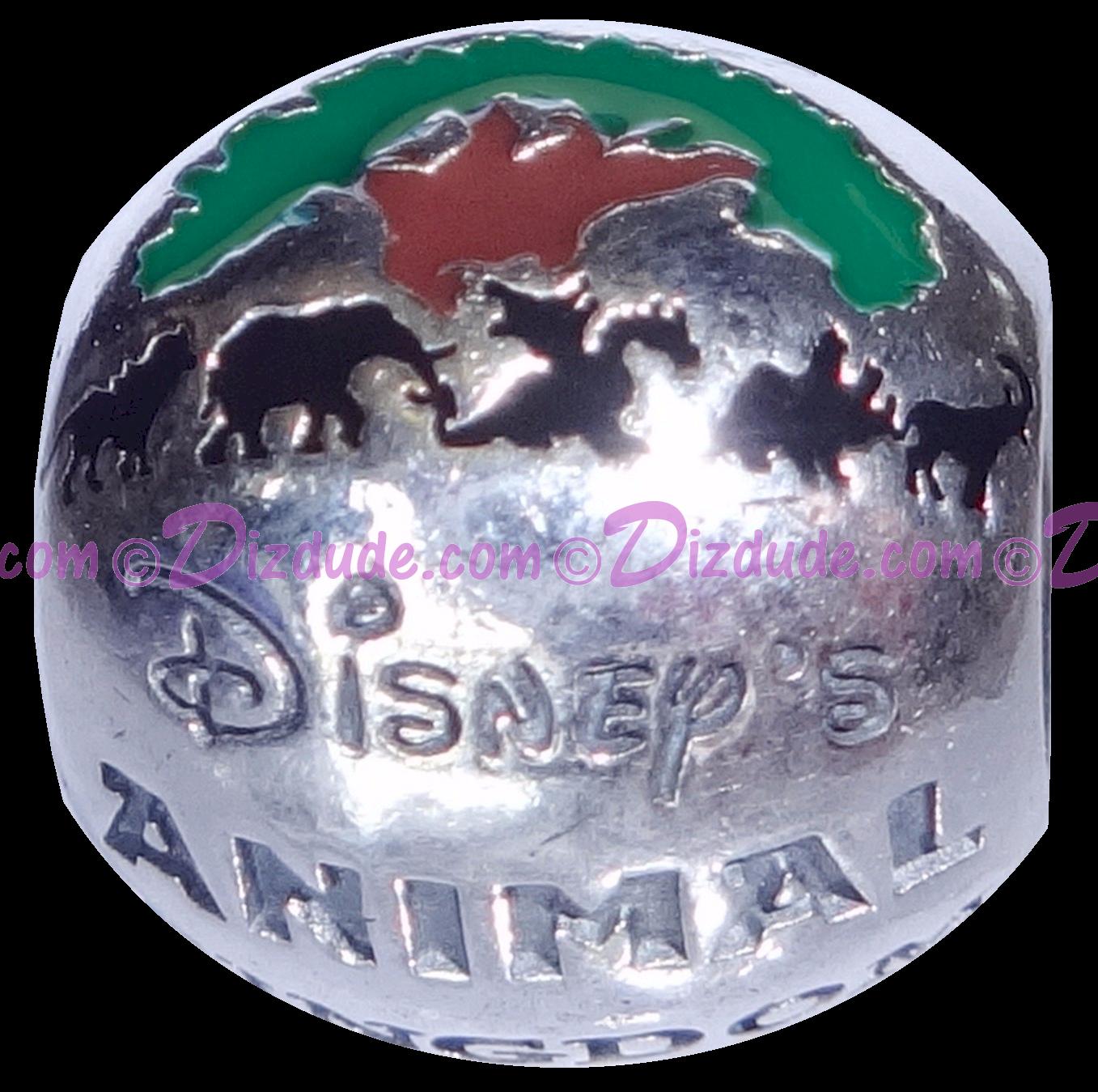 "Disney Pandora ""Animal Kingdom Theme Park"" Sterling Silver Charm - Disney World Parks Exclusive"
