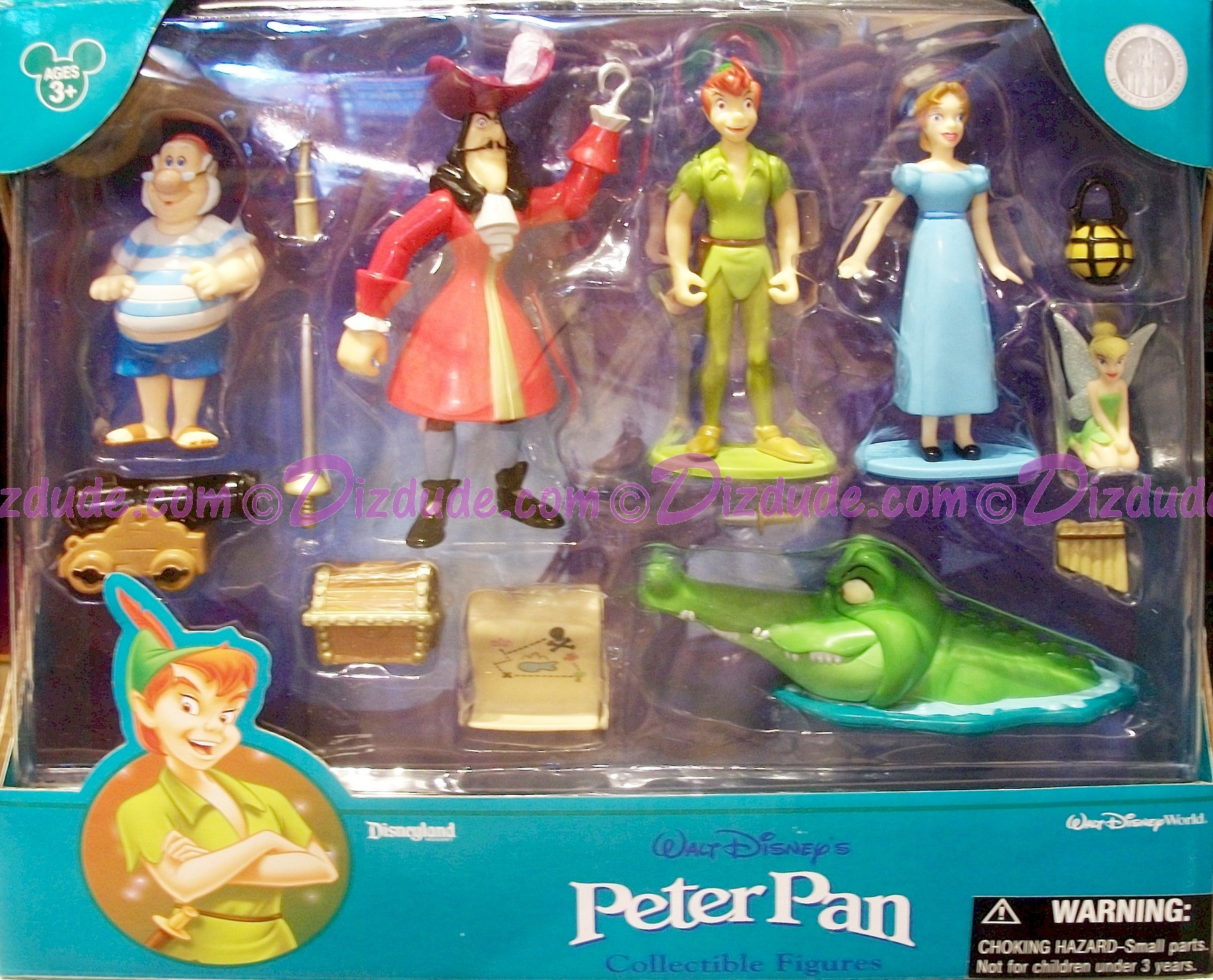 Dizdude Com Disney Peter Pan Collectible Figures Dizdude