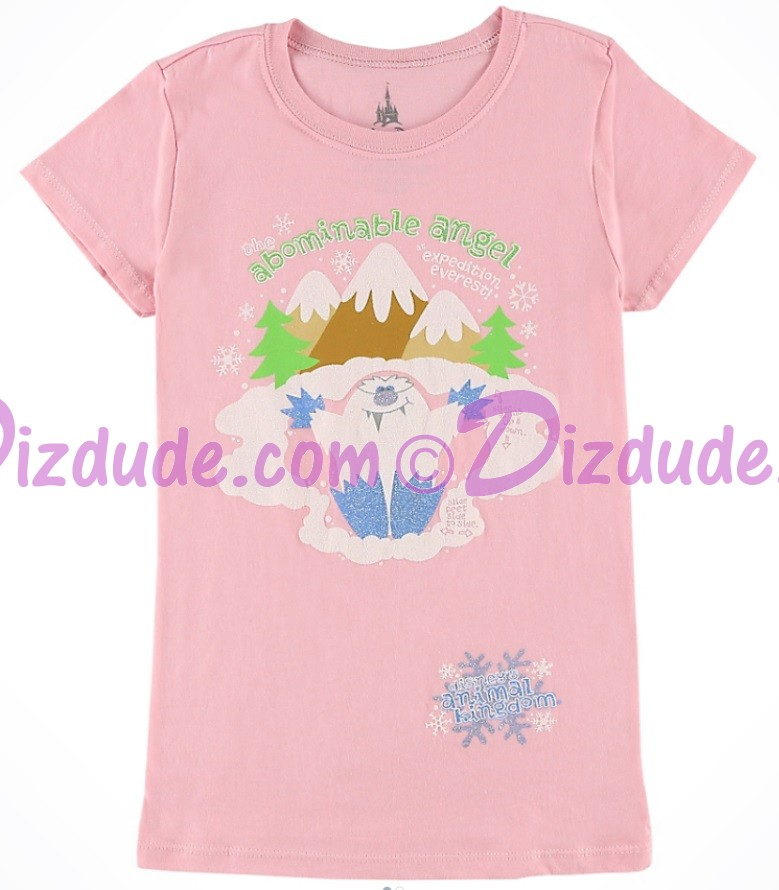 The Abominable Yeti Angel Expedition Everest Youth-T-Shirt (Tee, Tshirt or T shirt) ~ Disney Animal Kingdoms