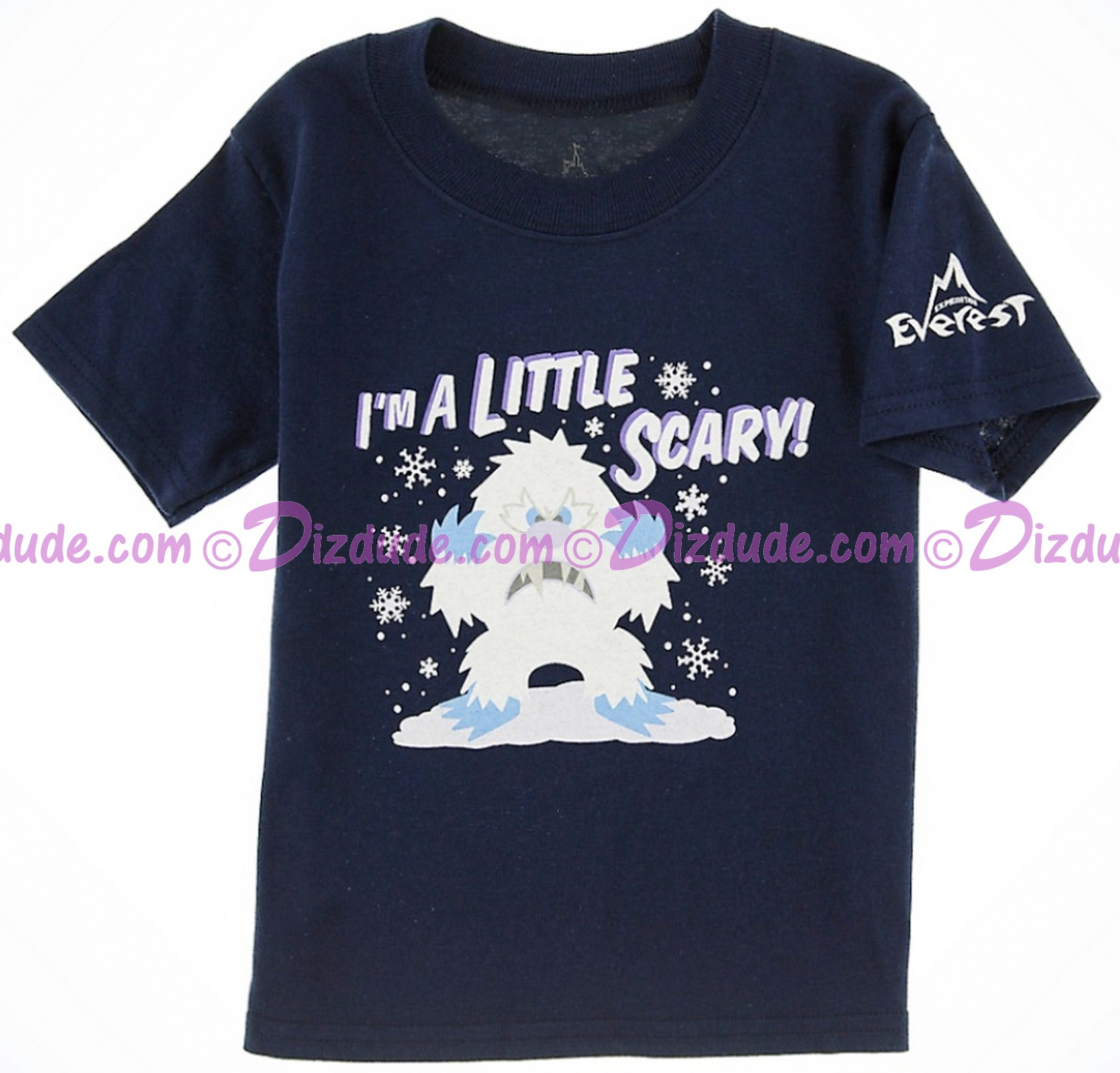 (MAKE VINTAGE) Little Scary Yeti Expedition Everest Toddler T-Shirt (Tee, Tshirt or T shirt) ~ Disney Animal Kingdoms
