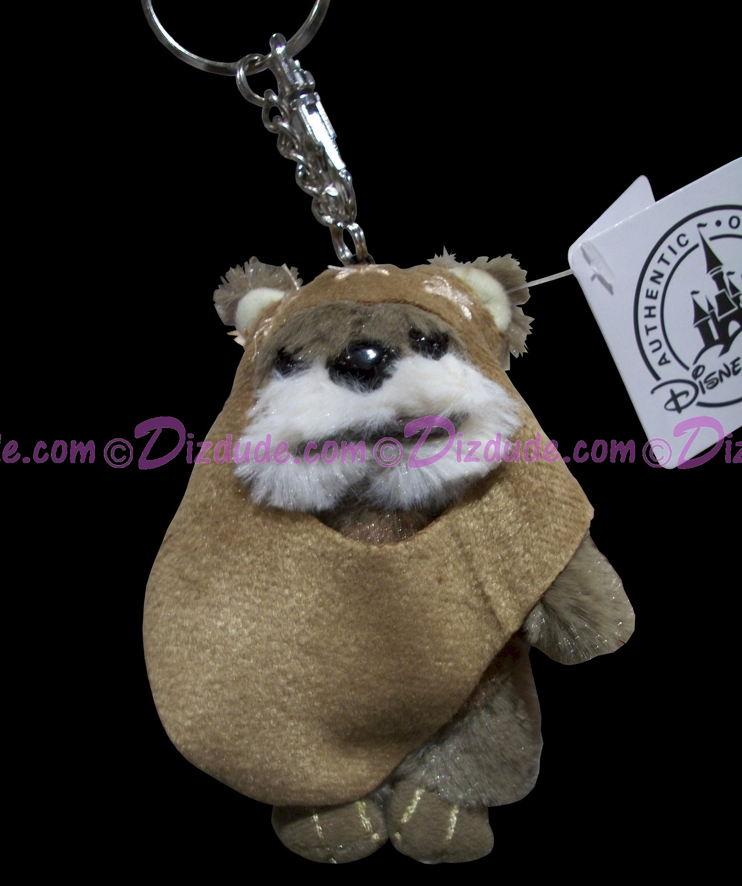 Star Wars Ewok Plush Key Chain or Christmas Ornament © Dizdude.com