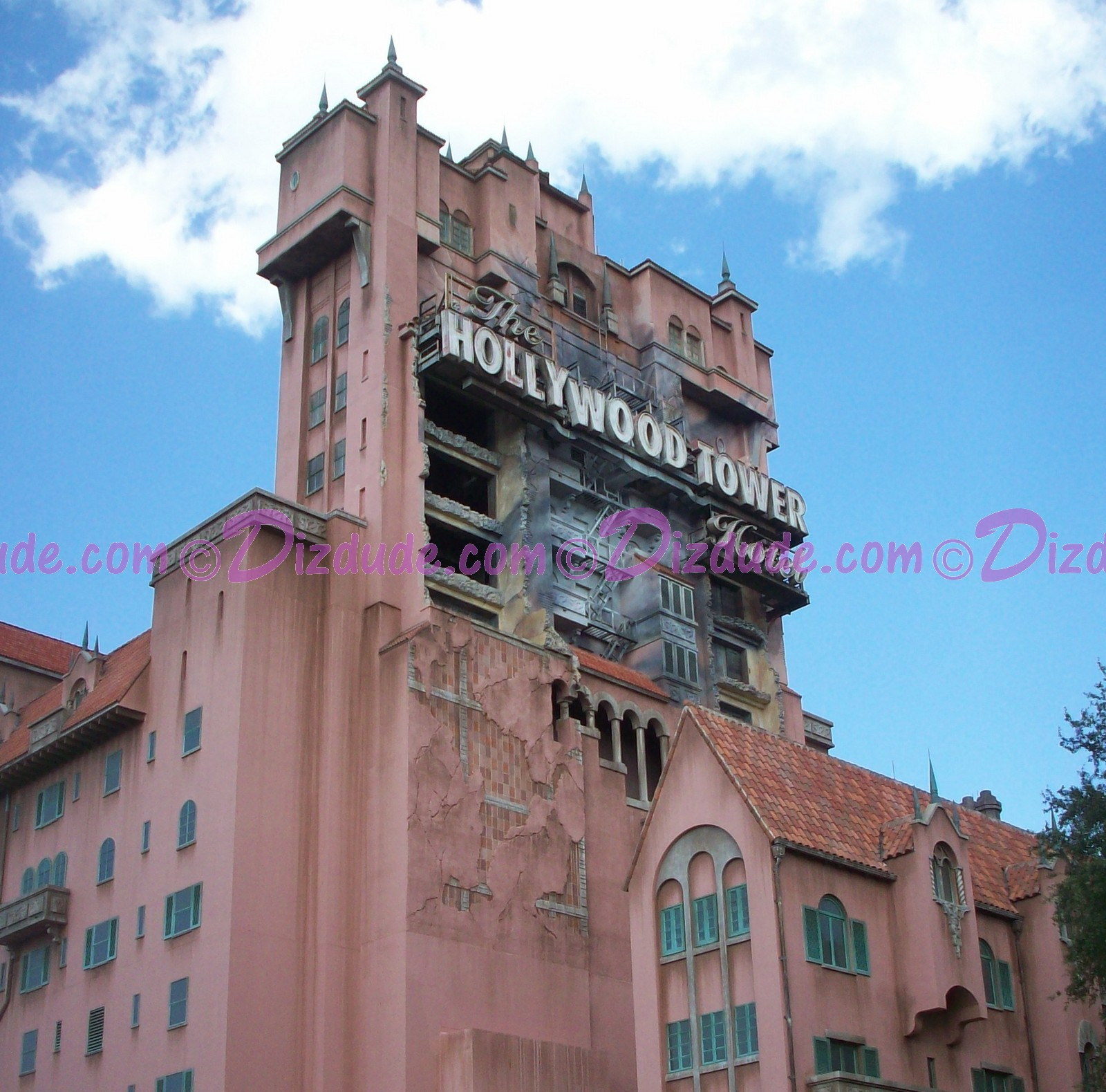 The Hollywood Tower Hotel ~ The Tower of Terror