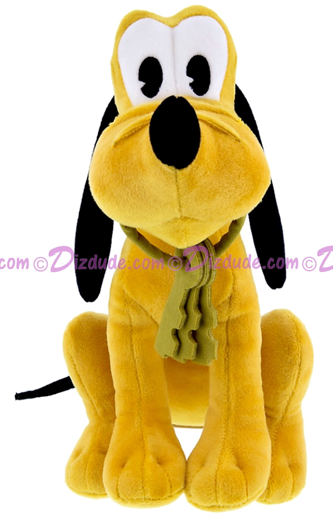 Pirate Dog Pluto 9 inch (23 cm) Plush ~ Pirates of the Caribbean © Dizdude.com