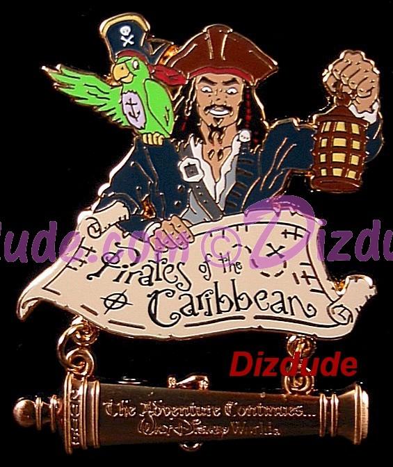 "Disney Doppelgangers Pirates Edition: Disney's ""Pirates Of The"