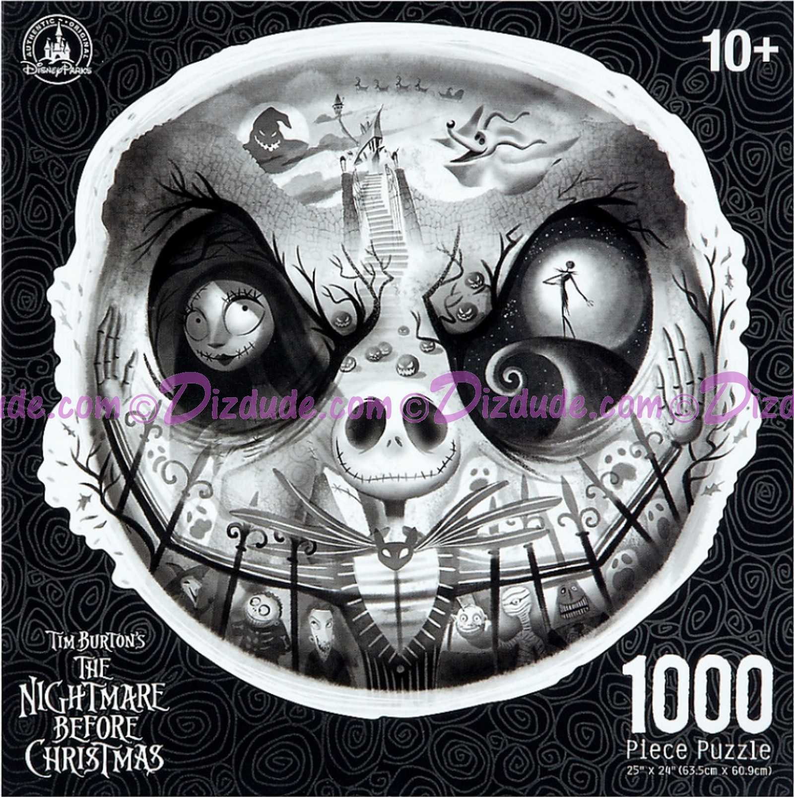 DIZDUDE.com | Tim Burtons The Nightmare Before Christmas 1000 Piece ...