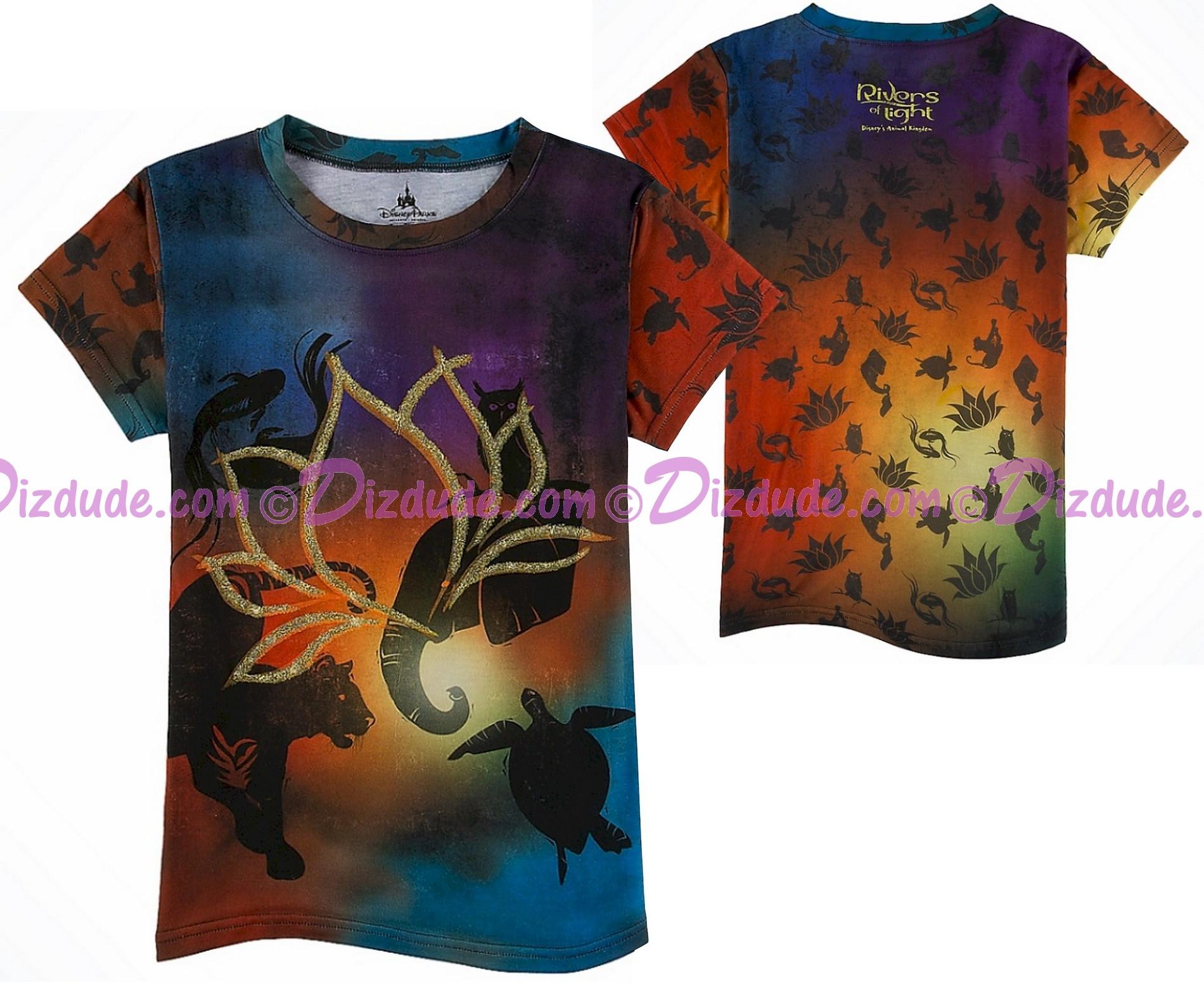 Rivers Of Light Gold Lotus All Over Print Youth T-Shirt (Tee, Tshirt or T shirt) ~ Disney Animal Kingdom