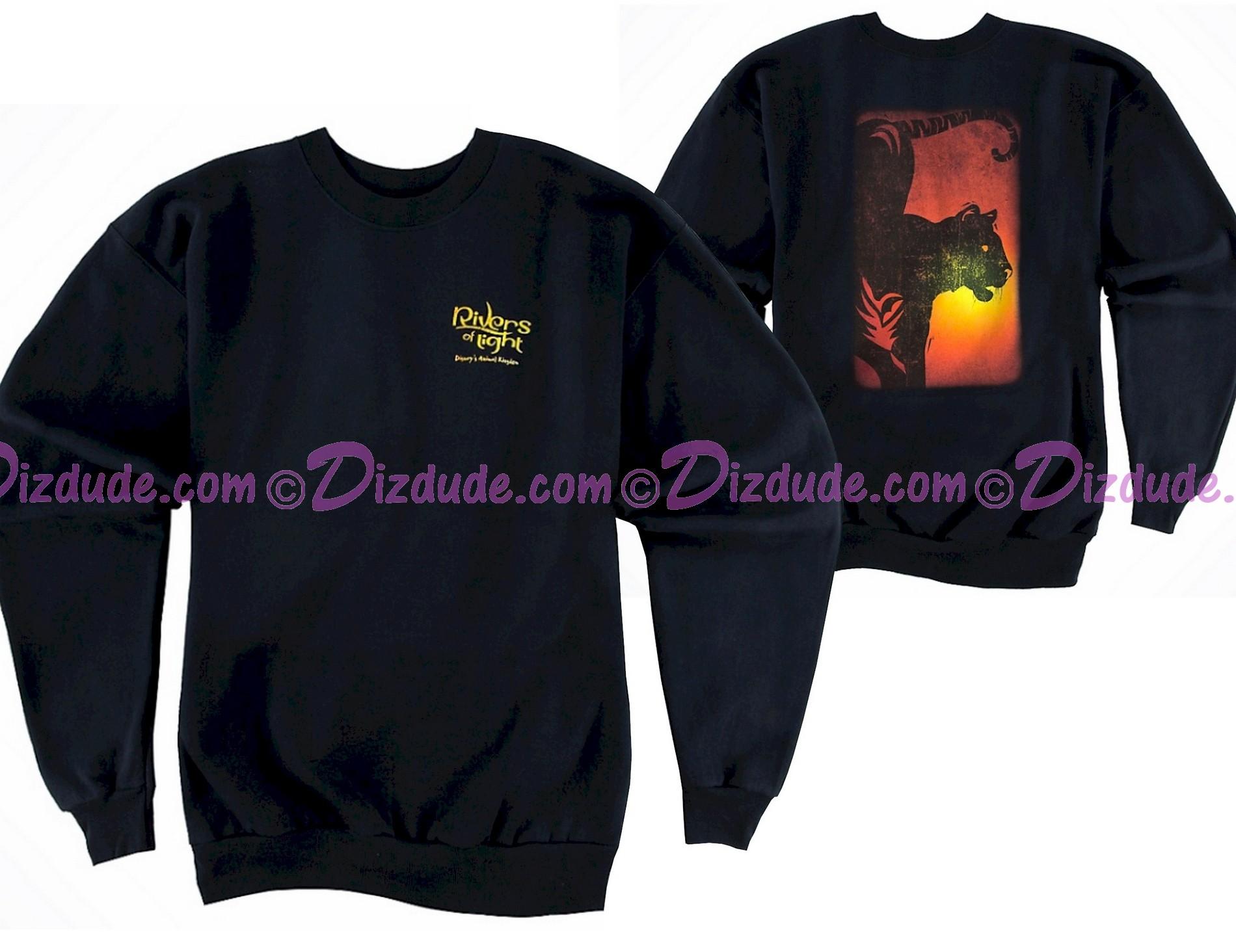 Rivers Of Light Adult Fleece Sweatshirt ~ Disney Animal Kingdom