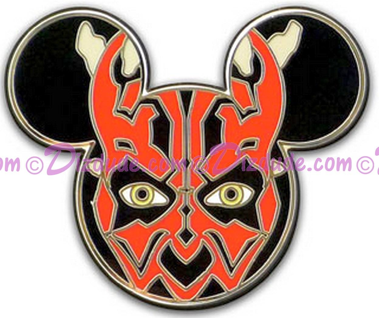 Mickey Mouse Icon - Darth Maul © Dizdude.com