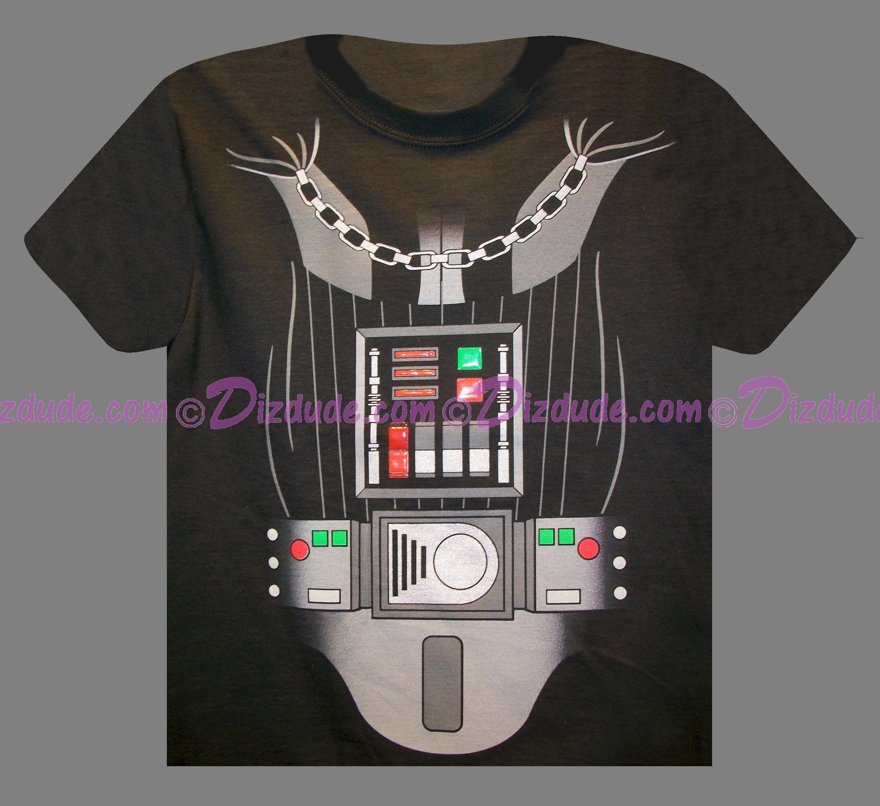 Disney Star Wars Darth Vader Armour Kids T-Shirt © Dizdude.com