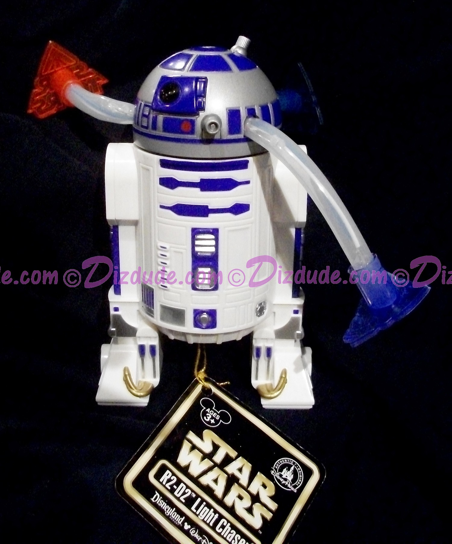 Disney Star Wars ~ Star Tours R2-D2 Light Chaser © Dizdude.com