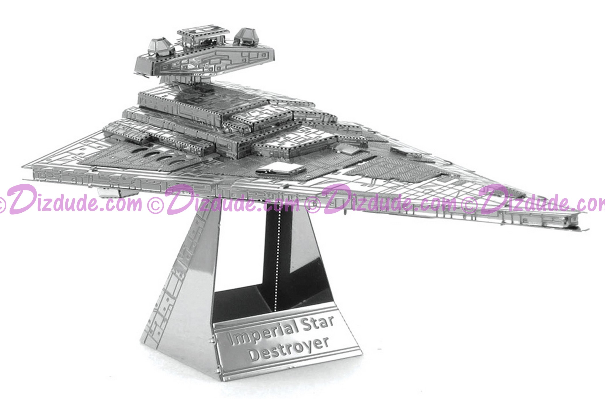 Disney Star Wars Imperial Star Destroyer 3D Metal Model Kit © Dizdude.com