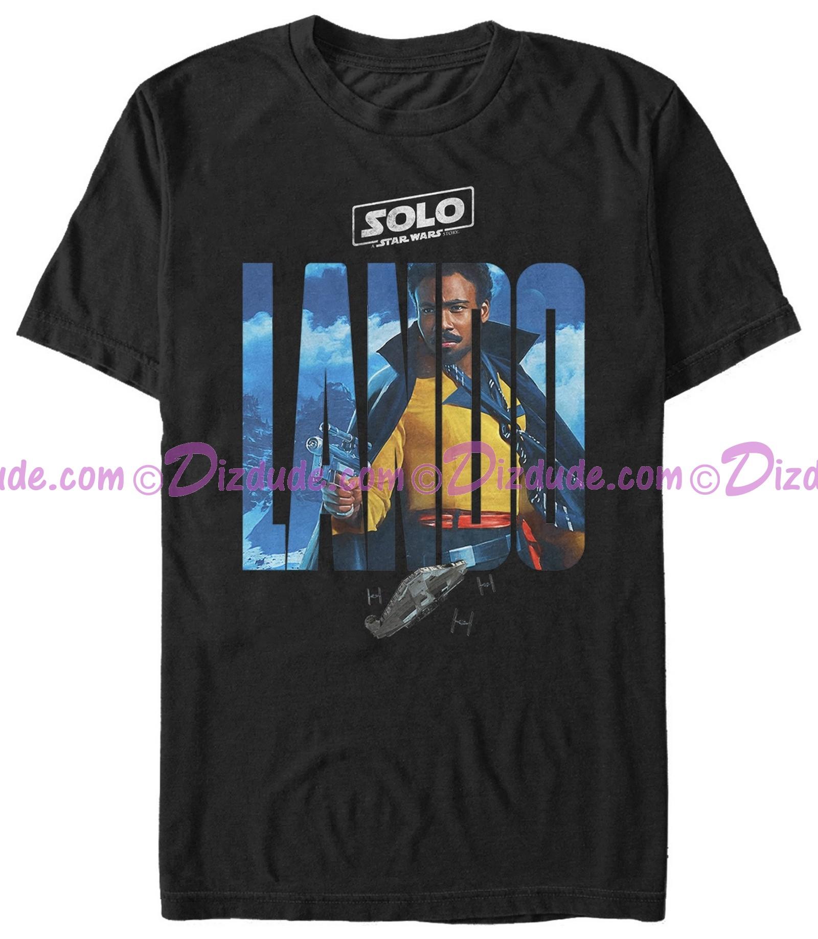 SOLO A Star Wars Story Lando Logo Adult T-Shirt (Tshirt, T shirt or Tee)  © Dizdude.com