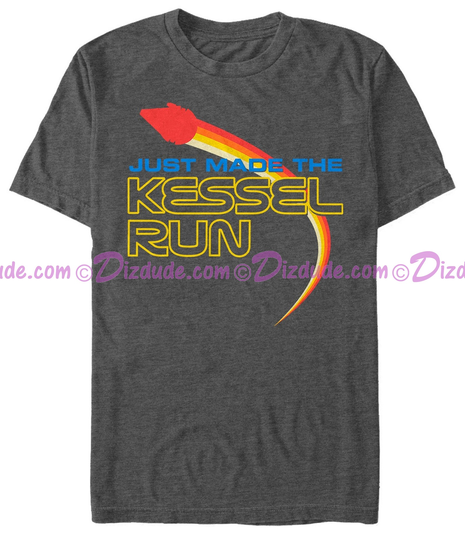 SOLO A Star Wars Story Just Made the Kessel Run Adult T-Shirt (Tshirt, T shirt or Tee)  © Dizdude.com
