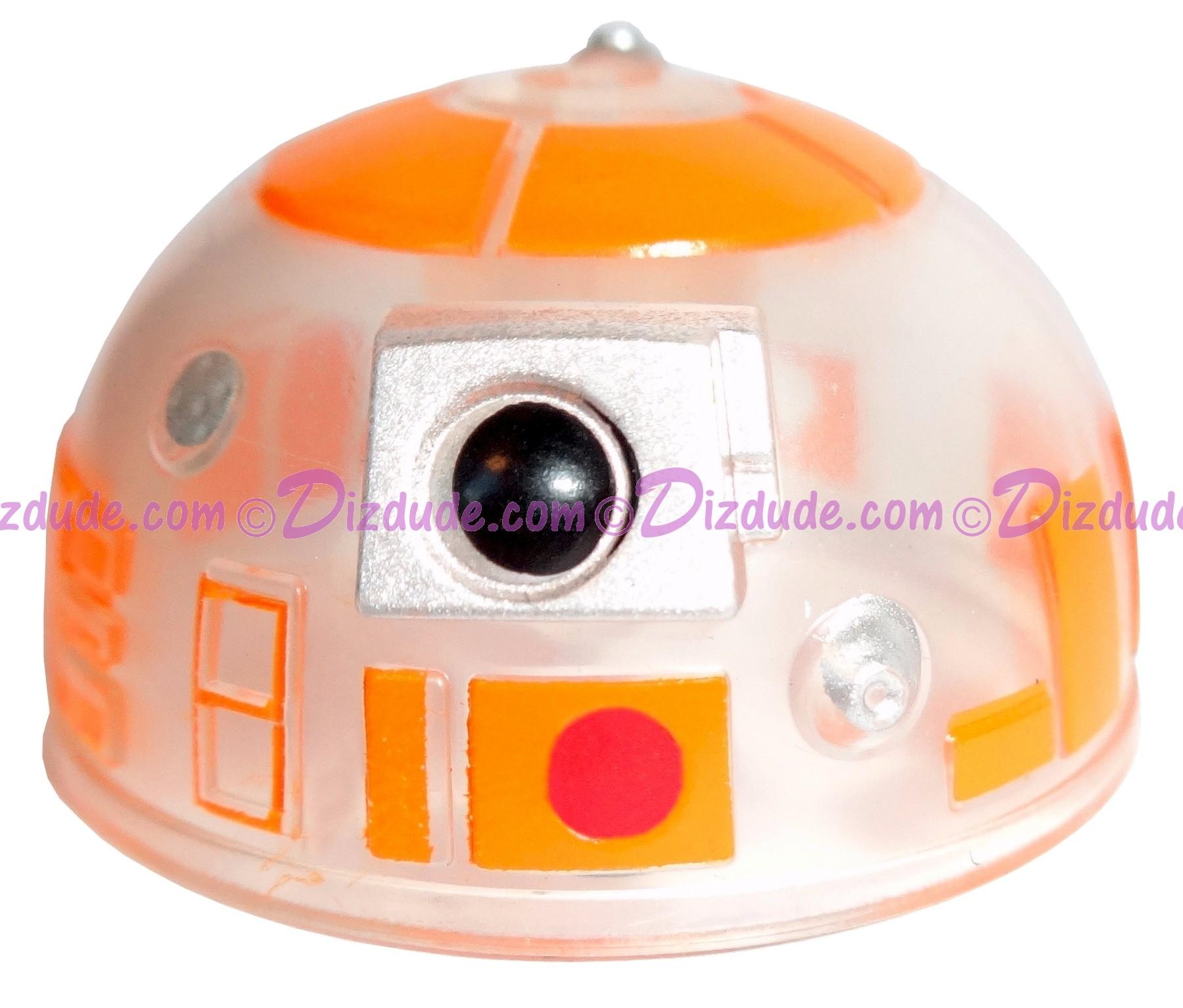 R3 Clear Orange Astromech Droid Dome ~ Series 2 from Disney Star Wars Build-A-Droid Factory © Dizdude.com