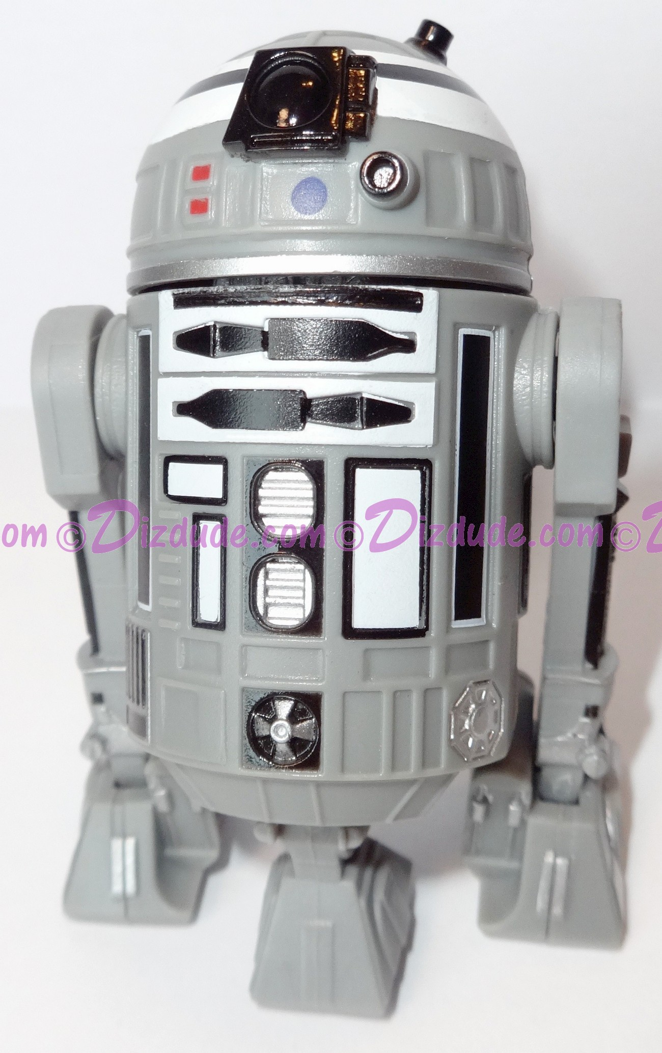 Gray & Black Astromech Droid ~ Pick-A-Hat ~ Series 2 from Disney Star Wars Build-A-Droid Factory © Dizdude.com