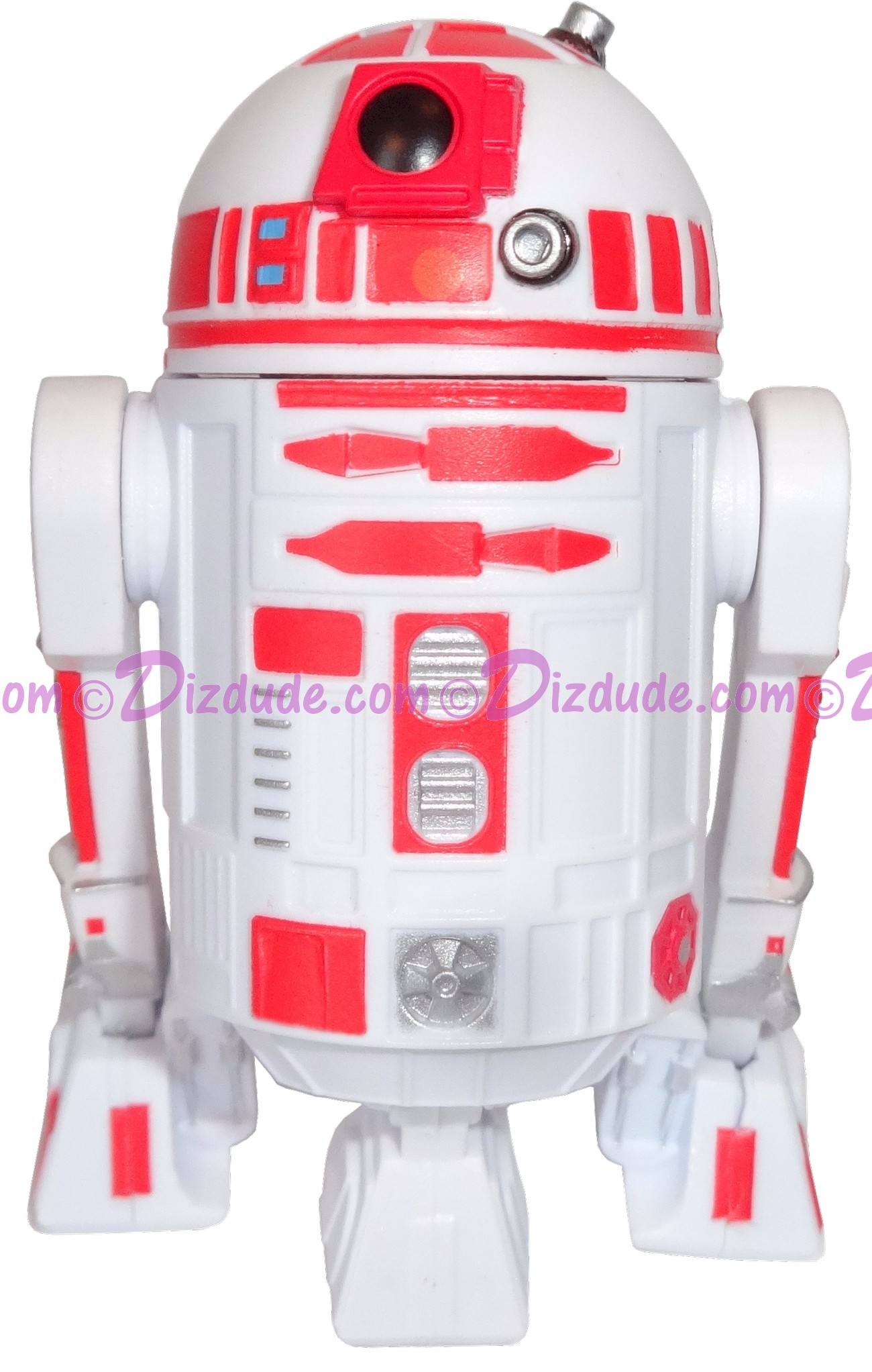 R2-D2 White & Red Astromech Droid ~ Pick-A-Hat ~ Series 2 from Disney Star Wars Build-A-Droid Factory © Dizdude.com