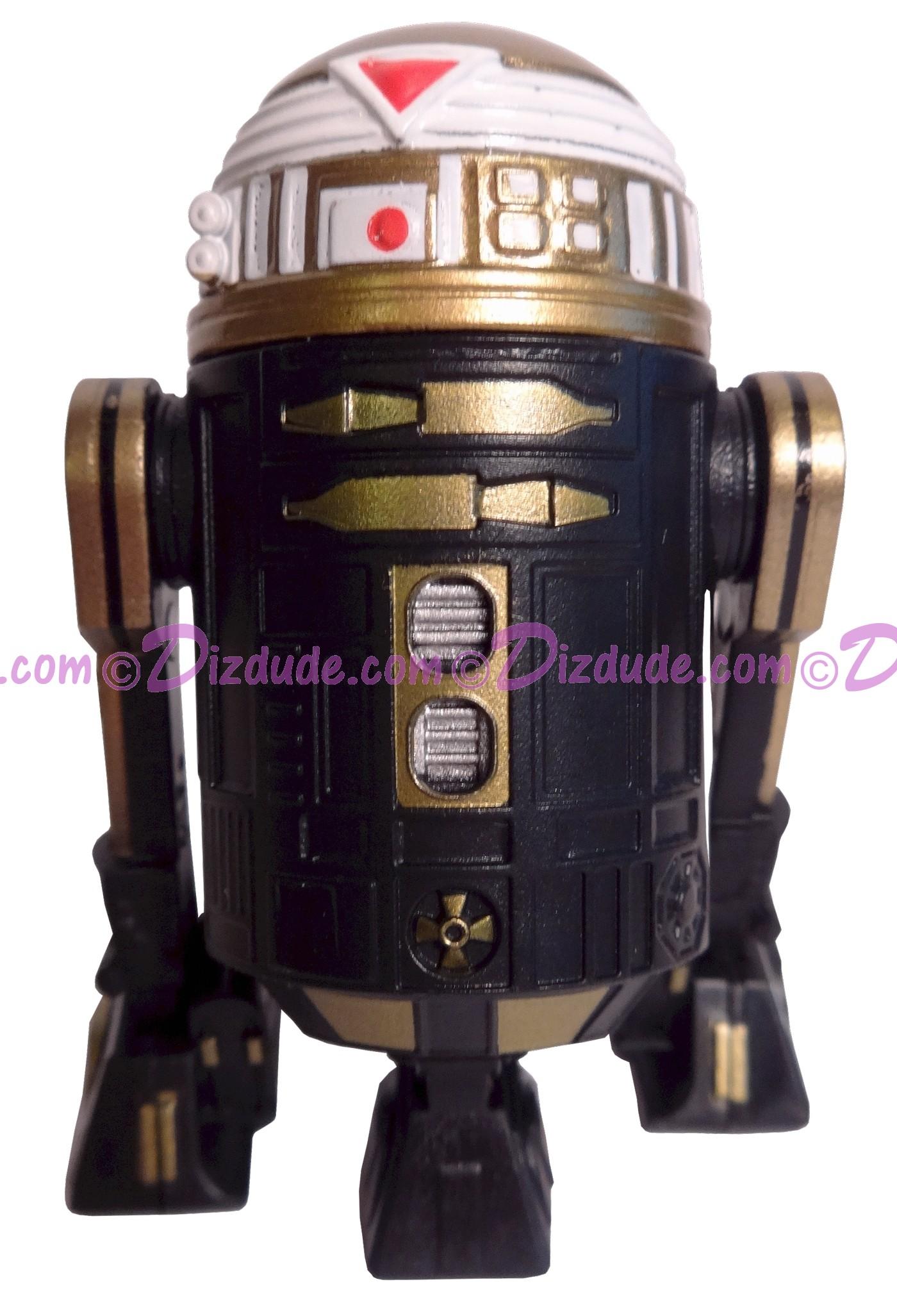 R7 Black & Gold Astromech Droid ~ Pick-A-Hat ~ Series 2 from Disney Star Wars Build-A-Droid Factory © Dizdude.com