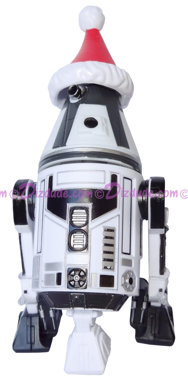 Christmas R4 with Santa Hat Astromech Droid ~ Series 2 Disney Star Wars Build-A-Droid Factory © DIZDUDE.COM
