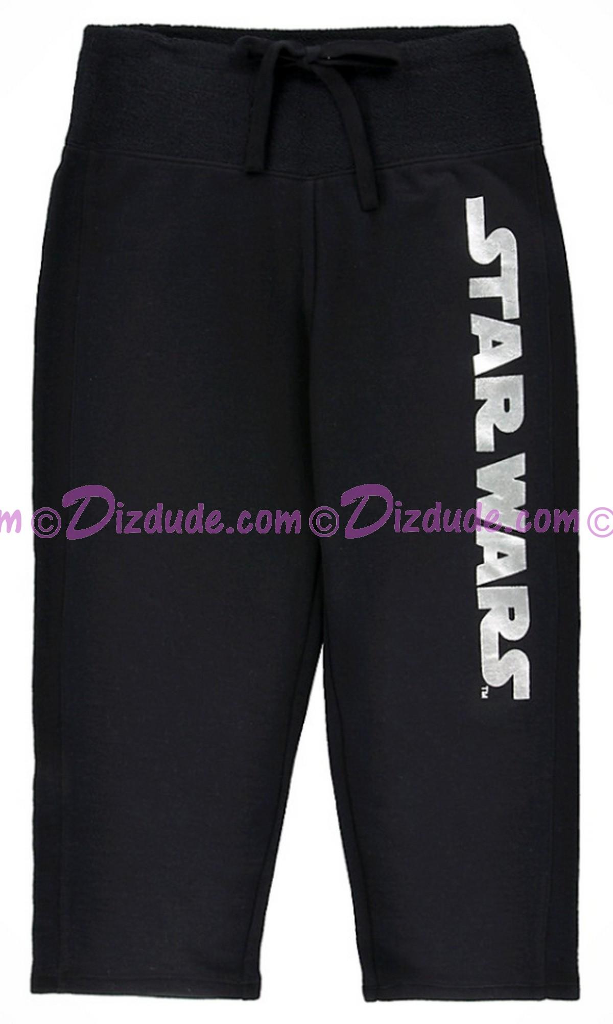 Disney Star Wars Foil Logo French Terry Adult Lounge Capri Pants © Dizdude.com