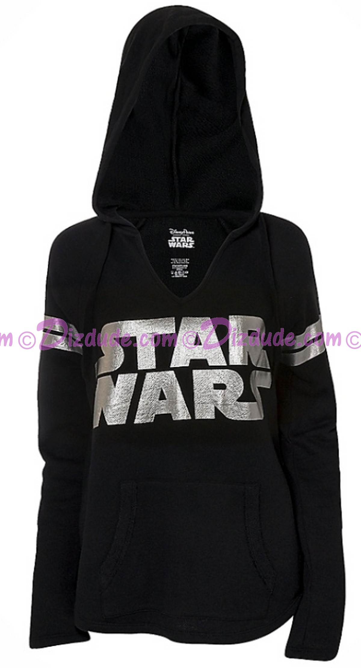Disney Star Wars Foil Logo French Terry Adult Lounge Hoodie © Dizdude.com