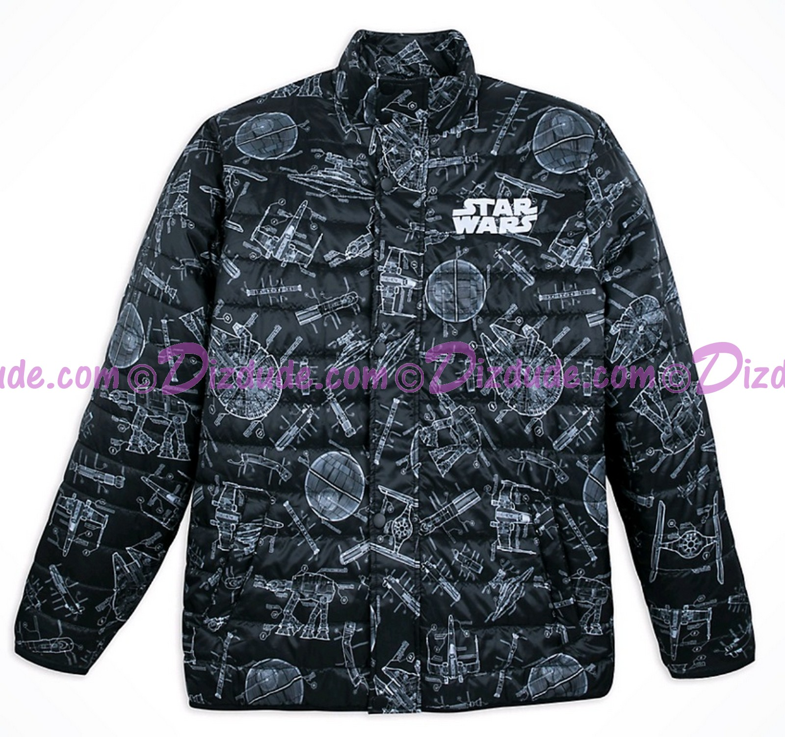 Disney Star Wars Adult Blueprint Jacket © Dizdude.com