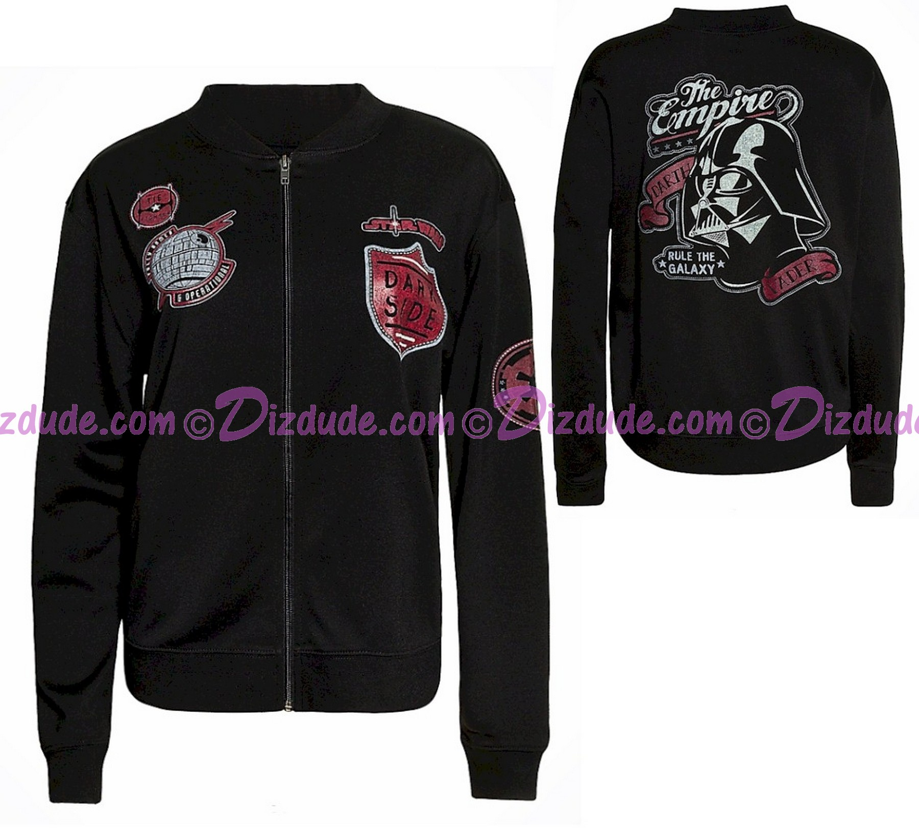 Disney Star Wars The Empire Adult Zip Jacket © Dizdude.com