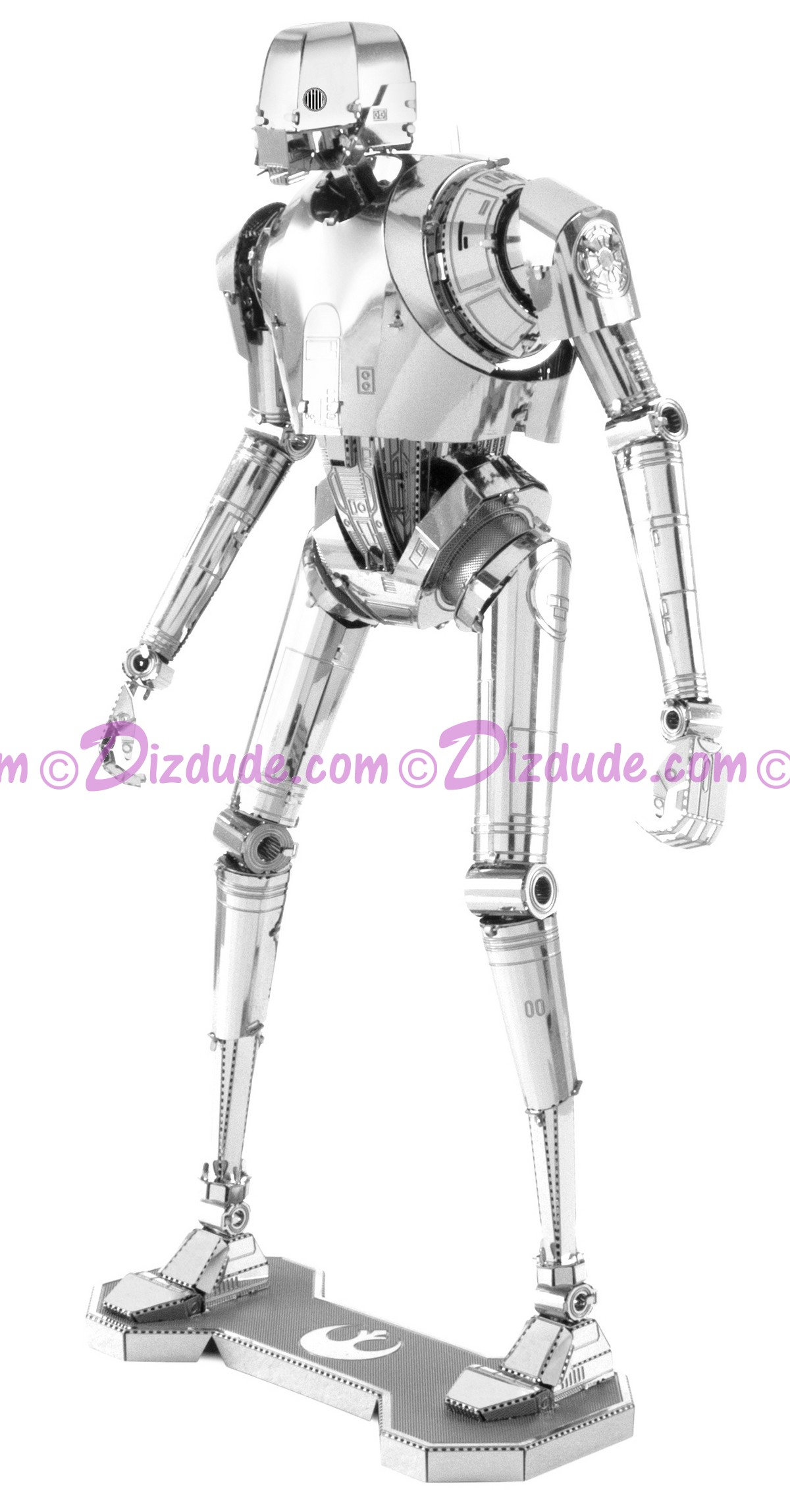 Rogue One K-2SO 3D Metal Model Kit ~ Disney Star Wars © Dizdude.com