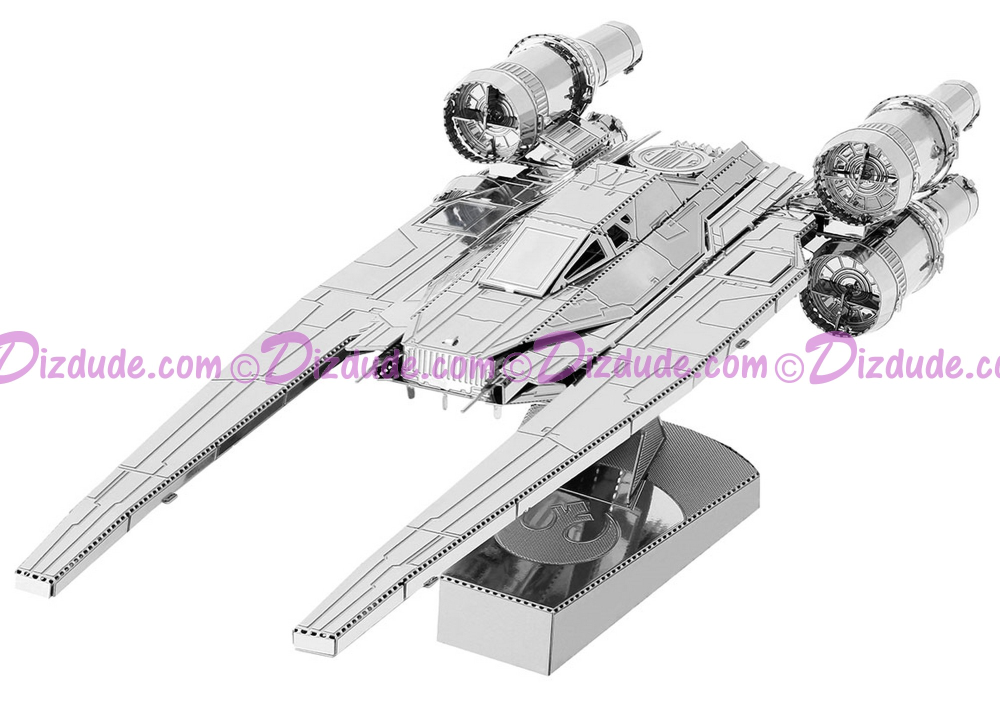 Rogue One UT-60D U-Wing Starfighter 3D Metal Model Kit ~ Disney Star Wars © Dizdude.com