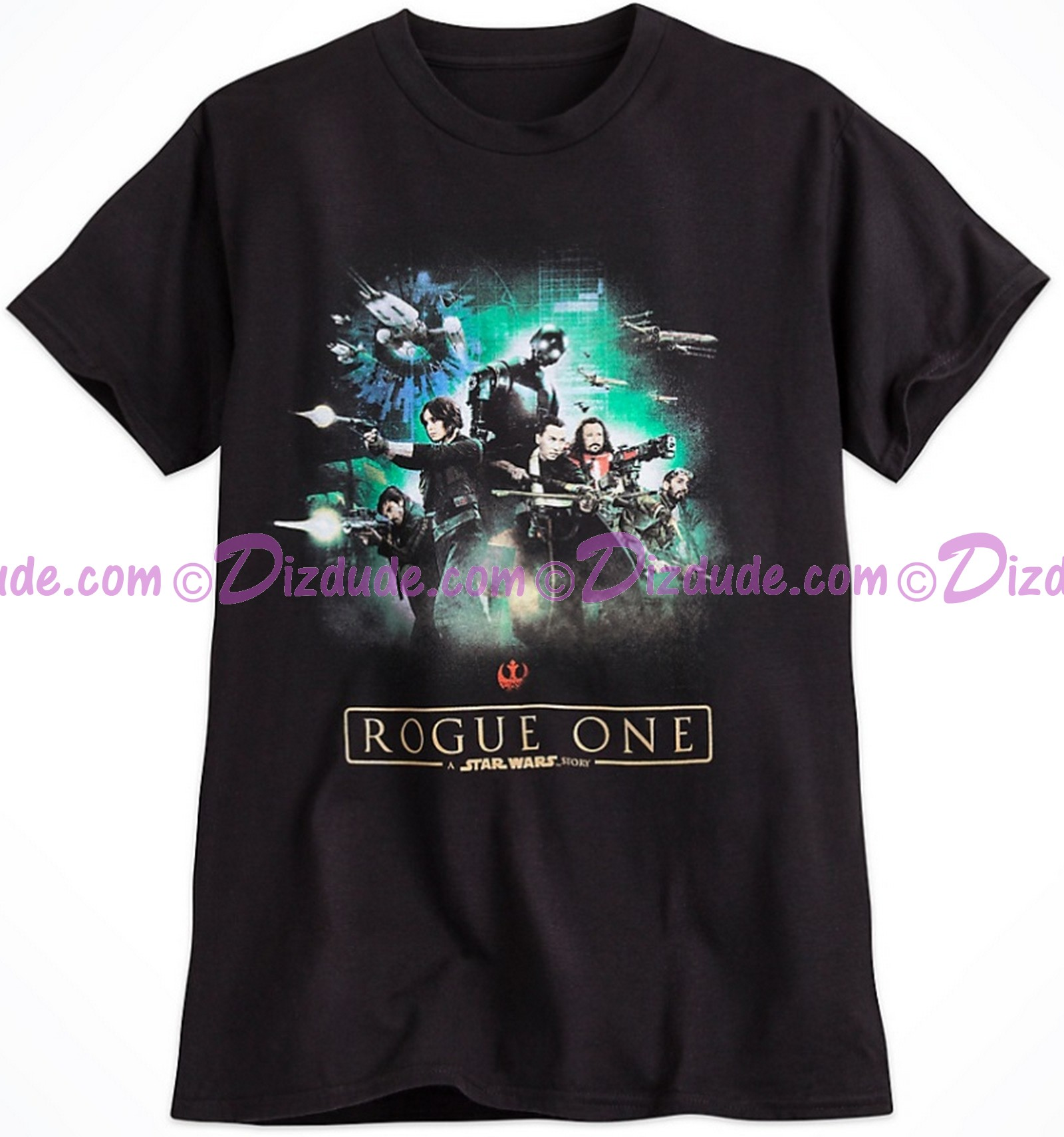Rogue One Rebel Adult T-Shirt (Tshirt, T shirt or Tee) - Disney's Star Wars