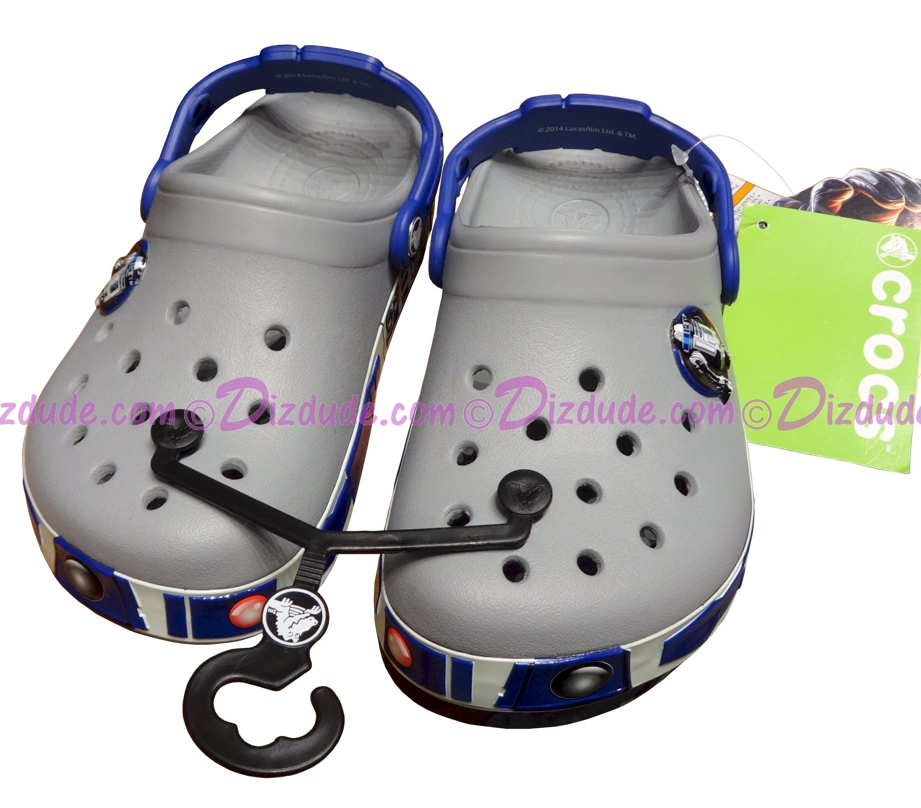 (SOLD OUT) Disney Star Wars R2-D2 Youth Crocs
