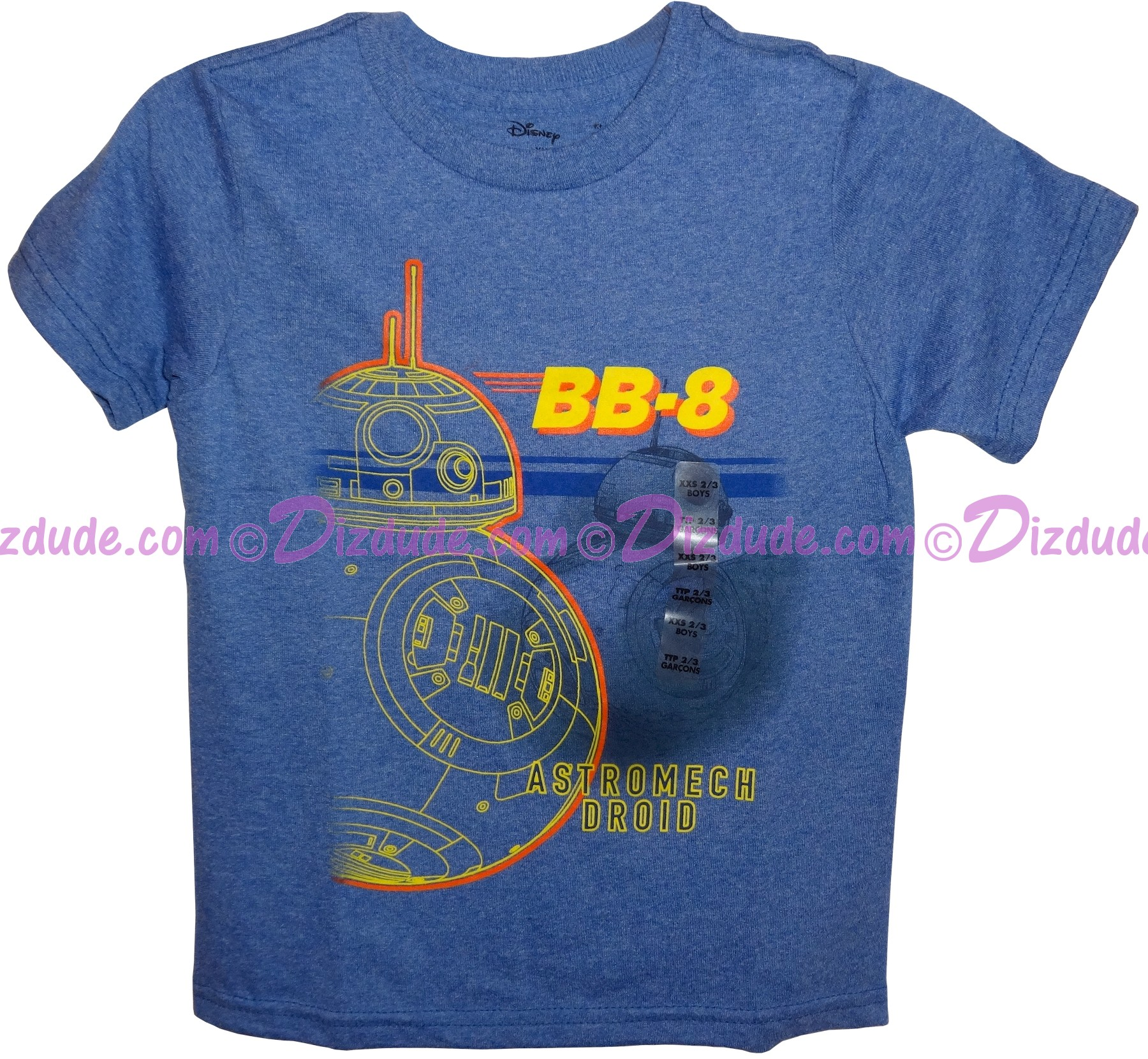 BB-8 Astromech Droid Youth T-Shirt (Tshirt, T shirt or Tee) - Disney's Star Wars © Dizdude.com