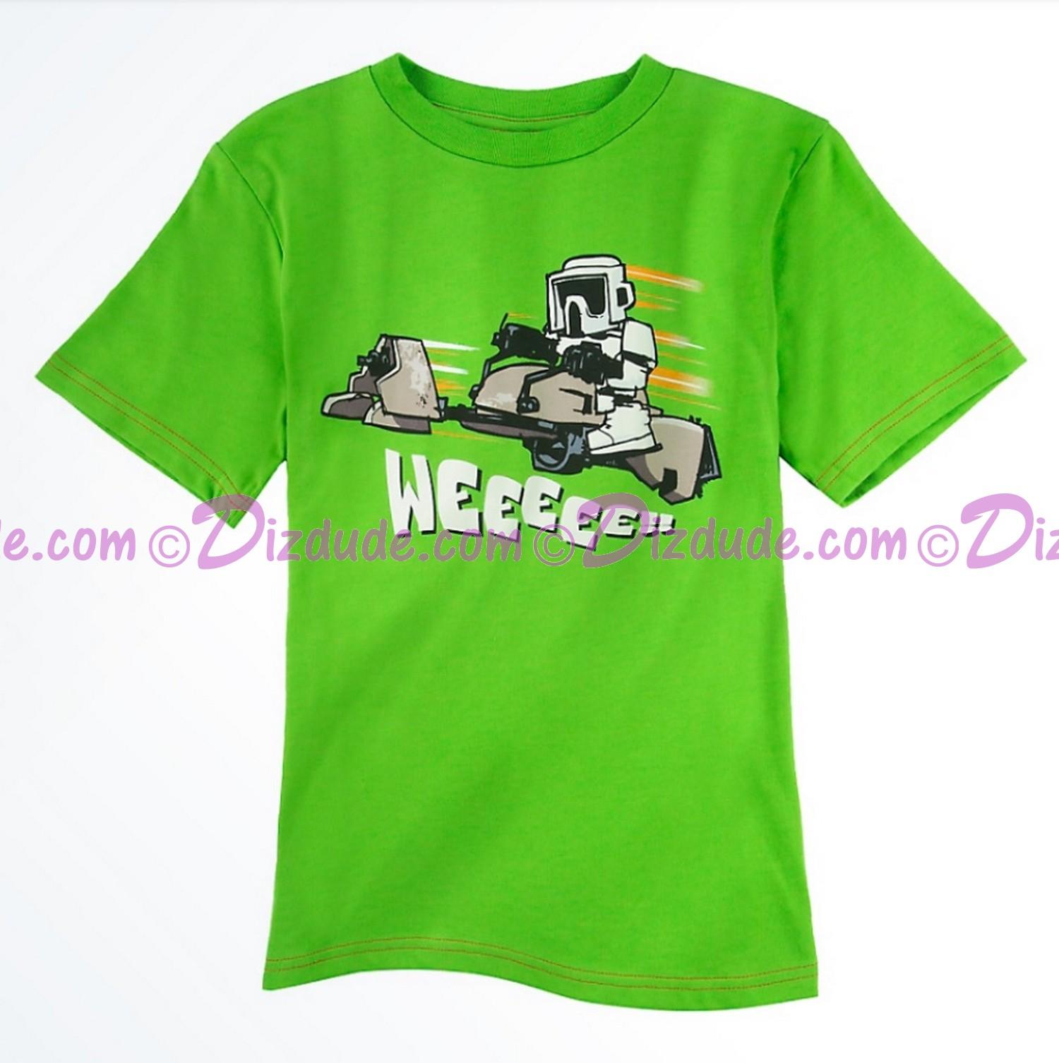 Biker Scout Weee Youth T-shirt  (Tee, Tshirt or T shirt) - Disney Star Wars © Dizdude.com