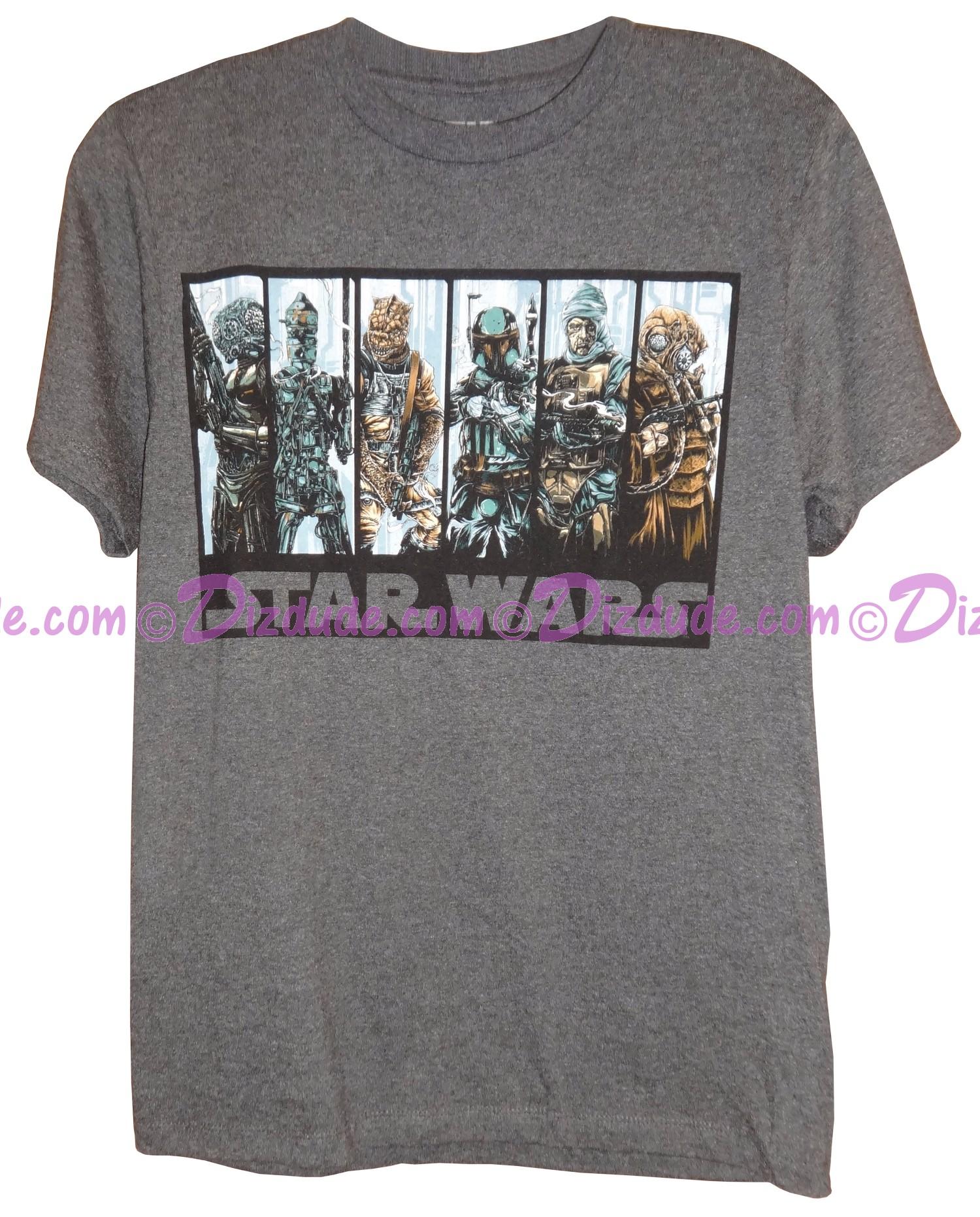 Bounty Hunters Adult T-Shirt (Tshirt, T shirt or Tee) - Disney Star Wars © Dizdude.com