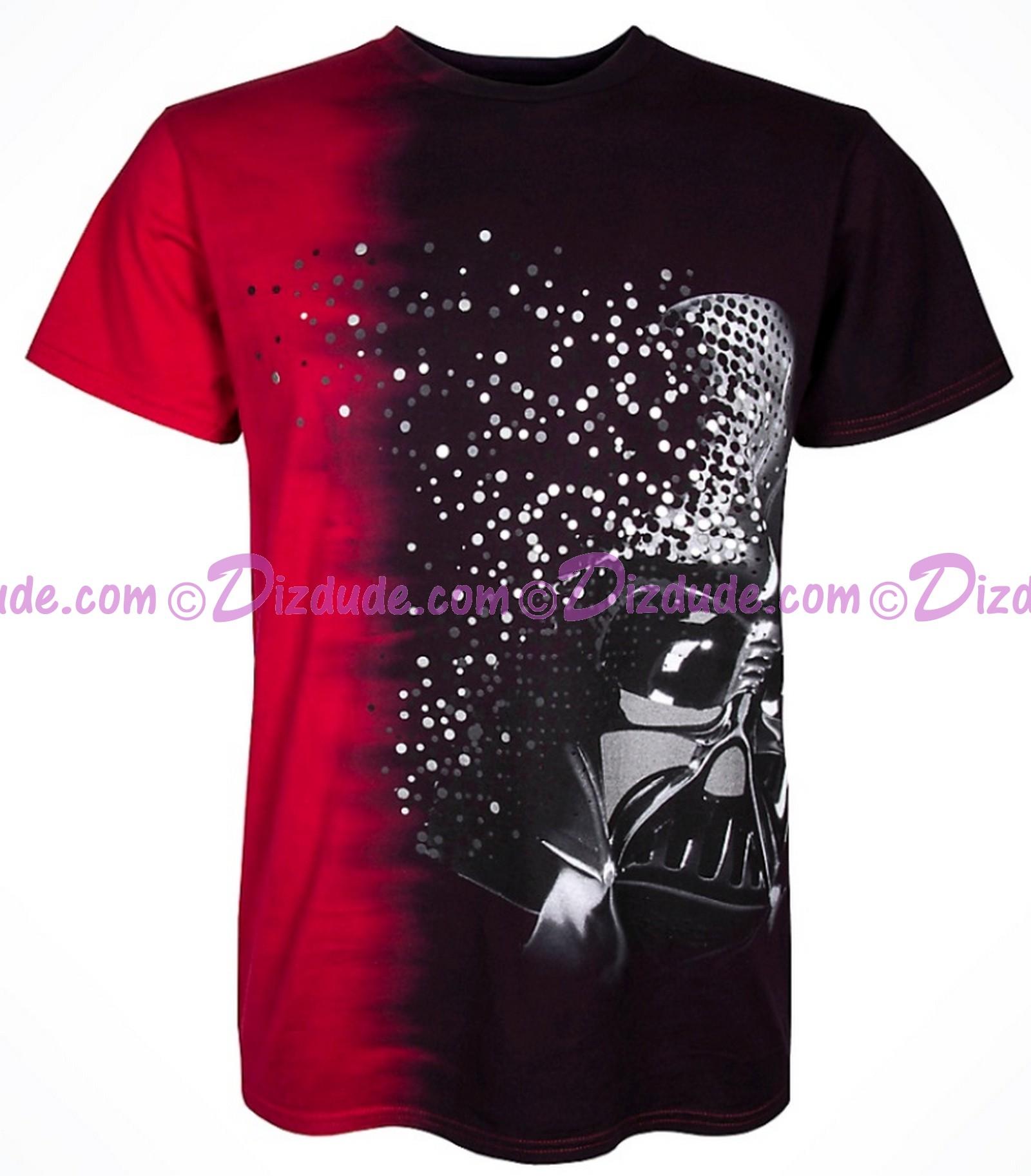 Darth Vader Particles Adult T-Shirt (Tshirt, T shirt or Tee) - Disney Star Wars Episode VIII: The Last Jedi  © Dizdude.com