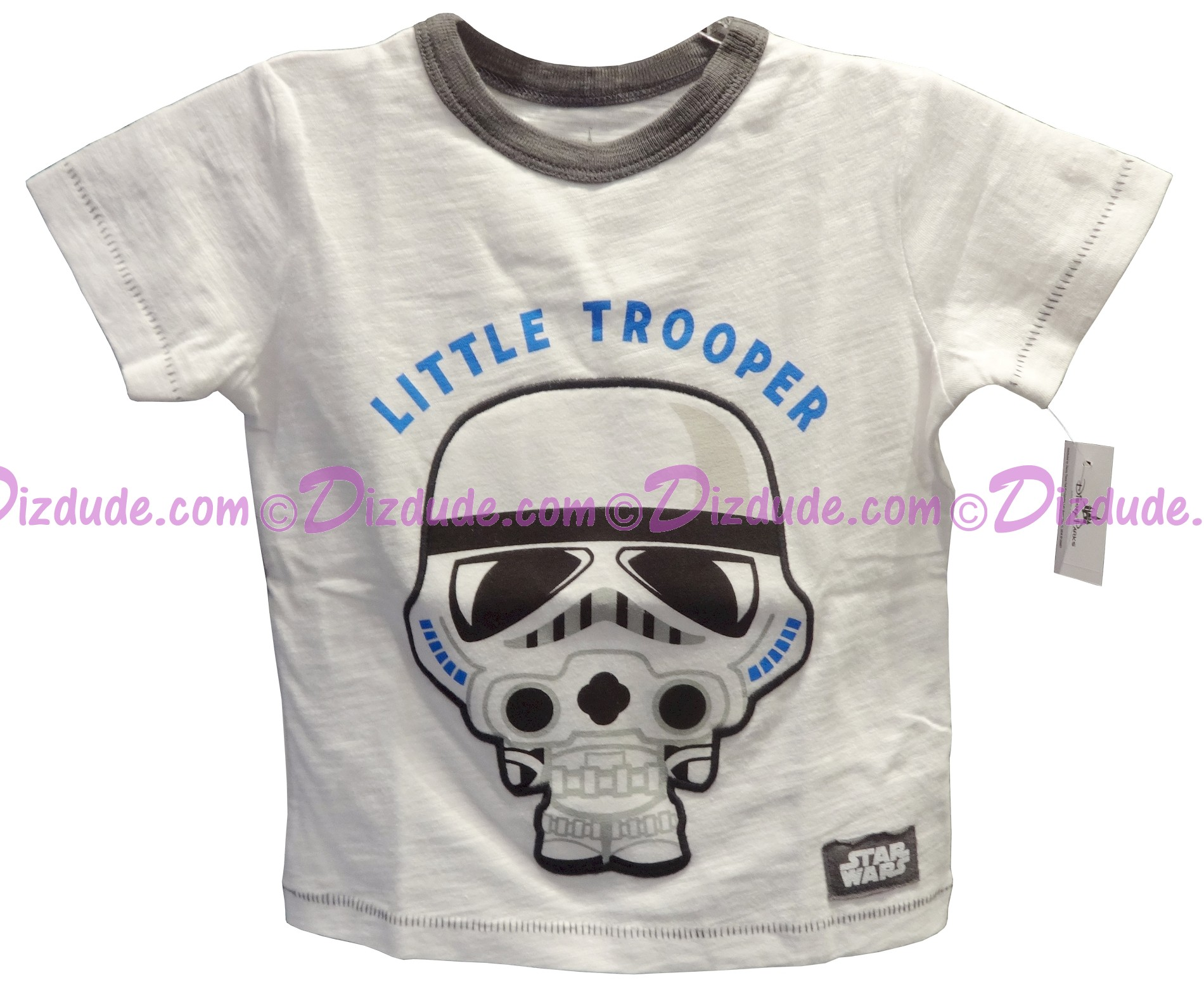 Disney Star Wars Little Trooper Toddler T-Shirt (Tshirt, T shirt or Tee) © Dizdude.com