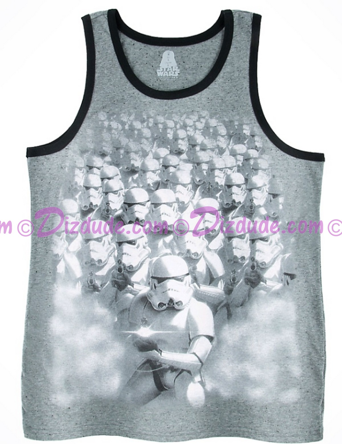 Disney Star Wars Star Stormtrooper Adult Tank Top © Dizdude.com