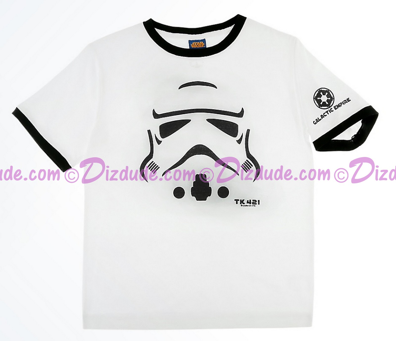 Star Wars Disney Stormtrooper TK 421 Youth T-Shirt (Tshirt, T shirt or Tee) © Dizdude.com